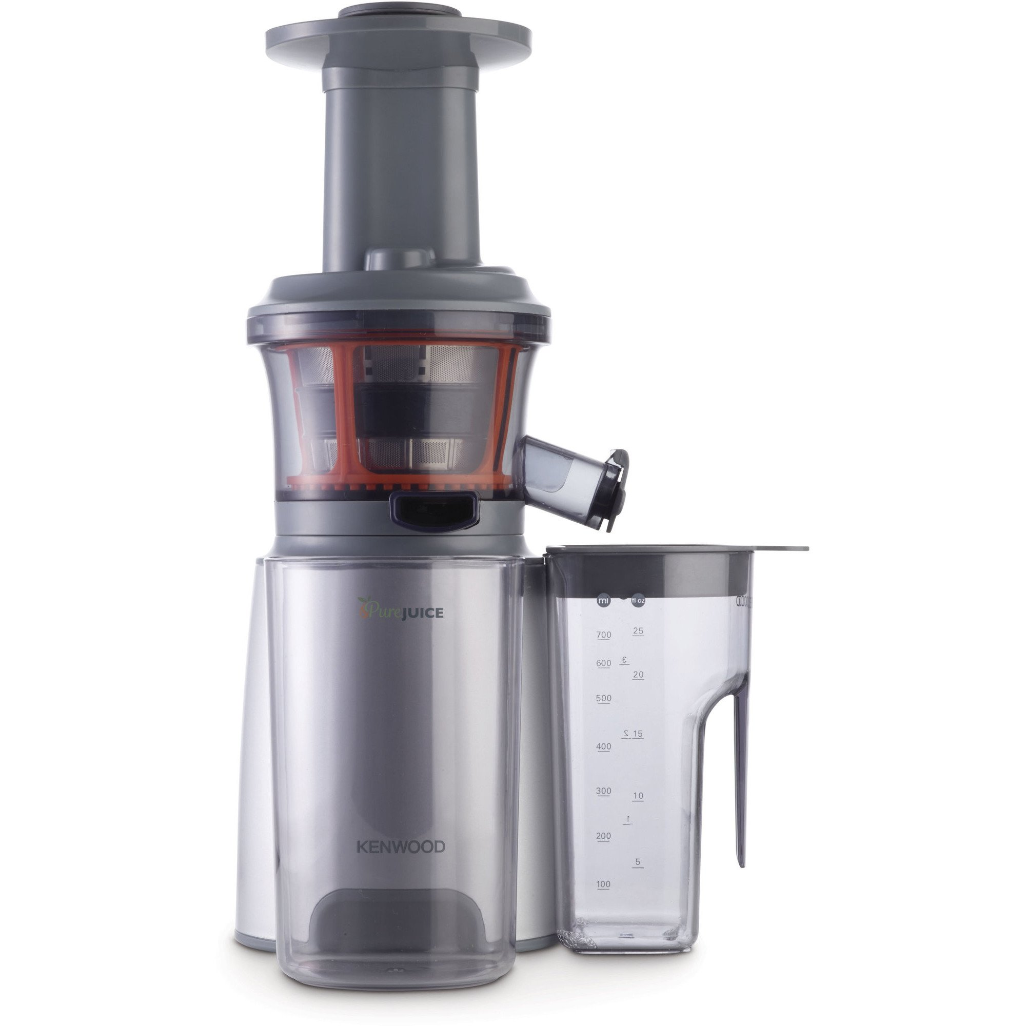 Slow Juicer Kenwood : JMP601SI PureJuice Slow Juicer fra Kenwood Gratis Levering