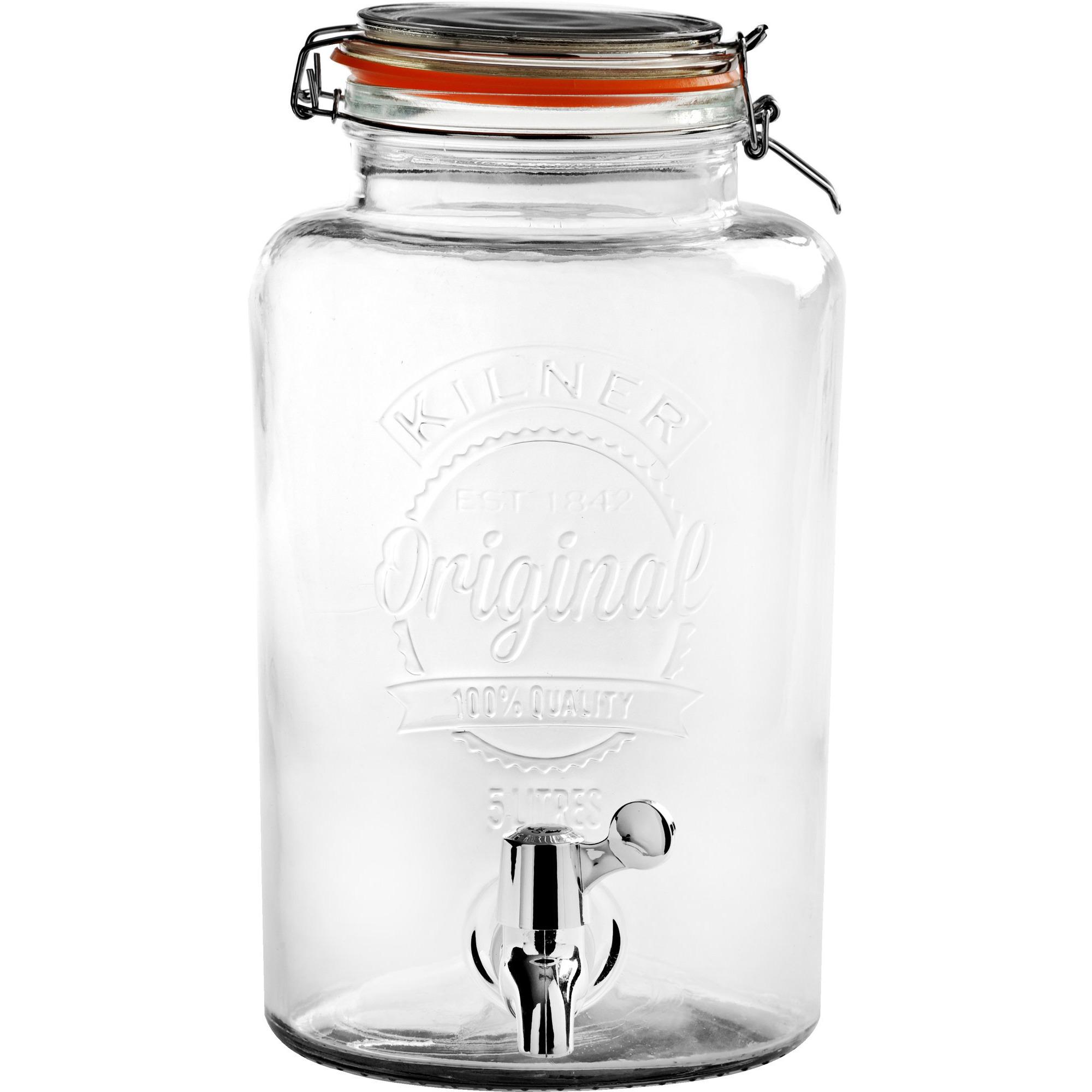 Kilner Glasbehållare med Tappkran 5 Liter