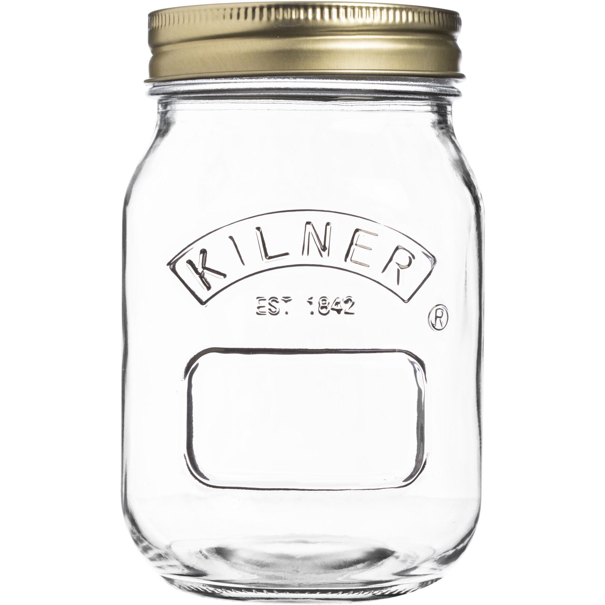 Kilner Konserveringsburk 05 Liter Rund