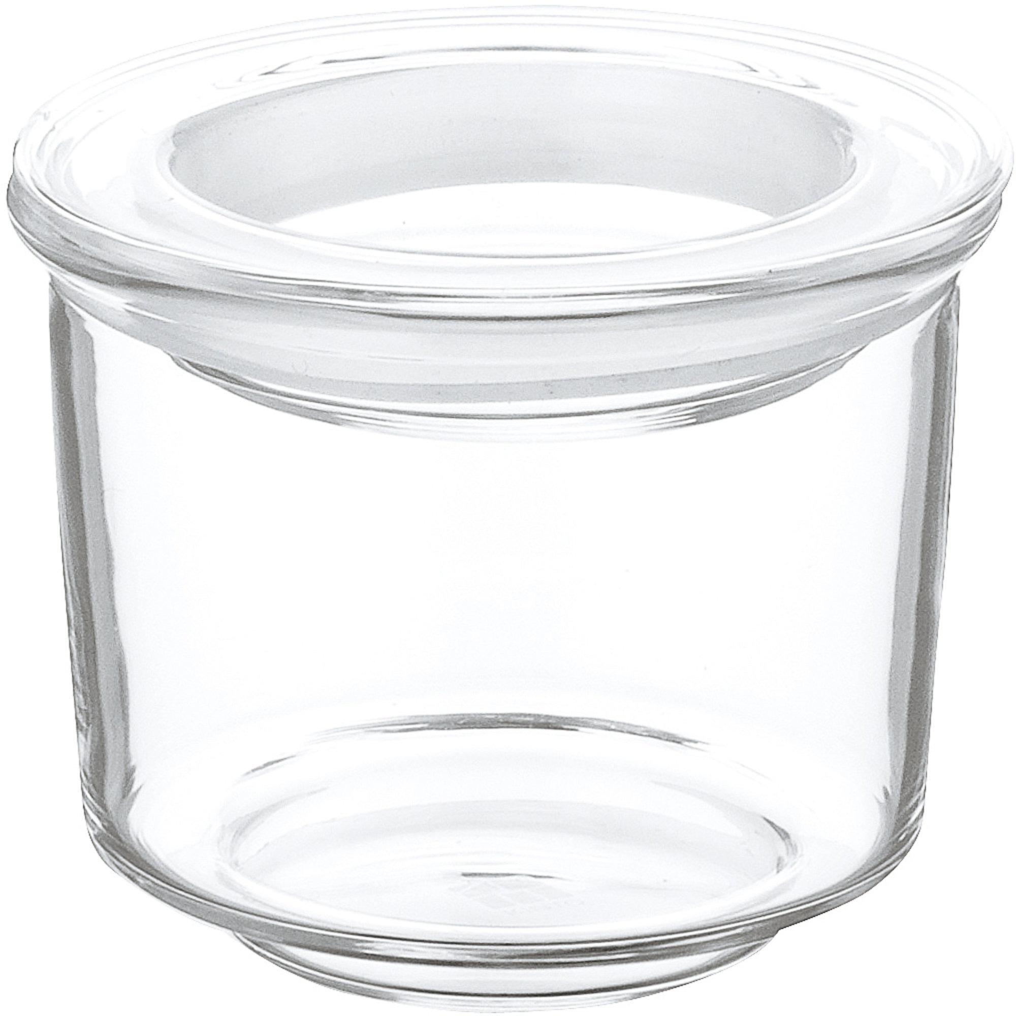 Kinto CAST-glasbehållare med lock Ø6 (låg)