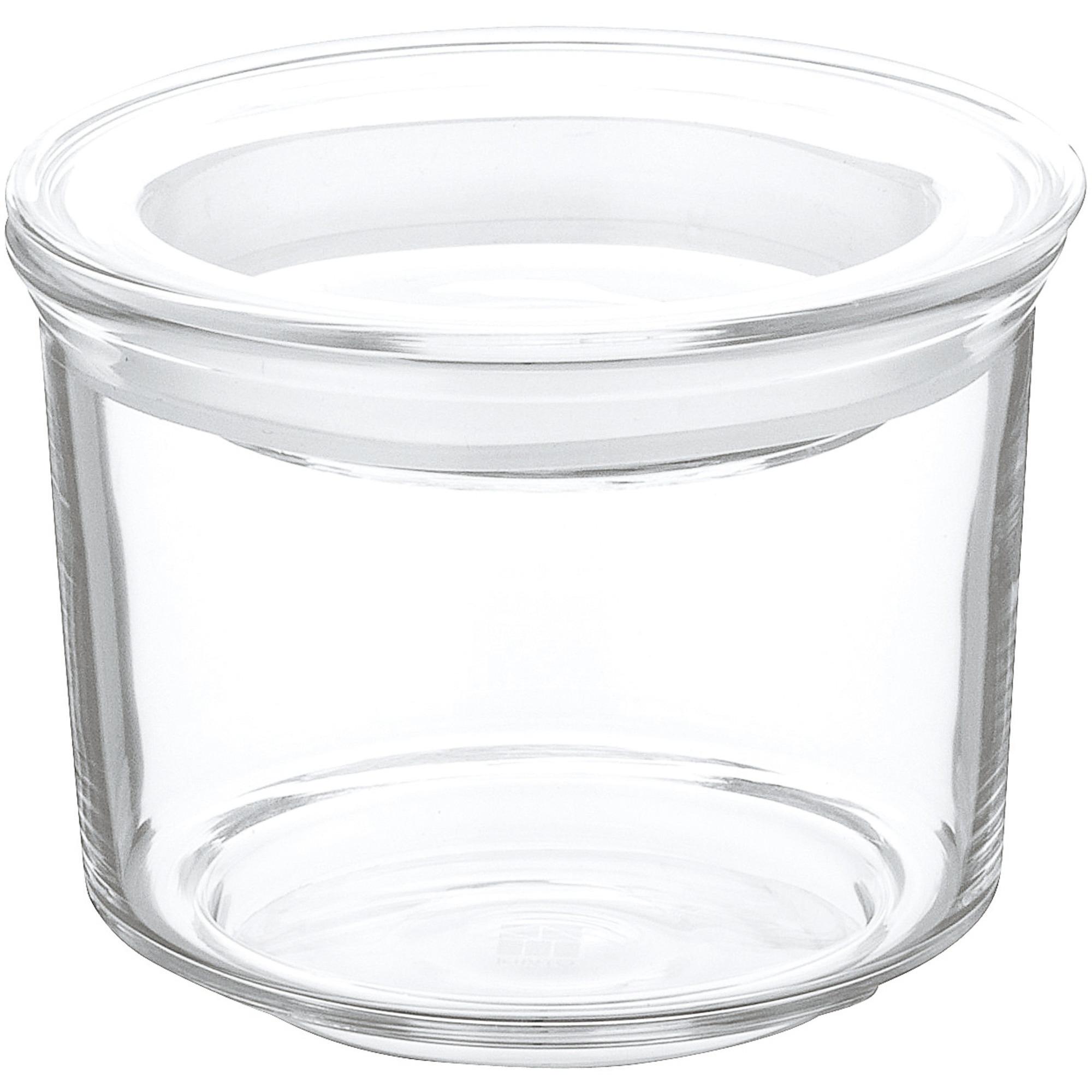 Kinto CAST-glasbehållare med lock Ø8cm
