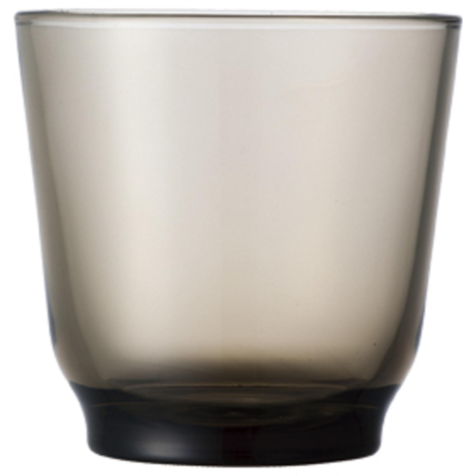 Kinto HIBI-vattenglas (220 ml) brun