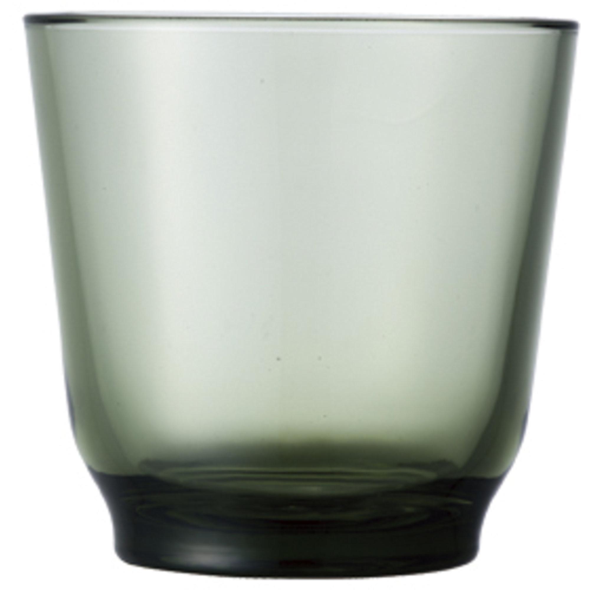 Kinto HIBI-vattenglas (220 ml) grön