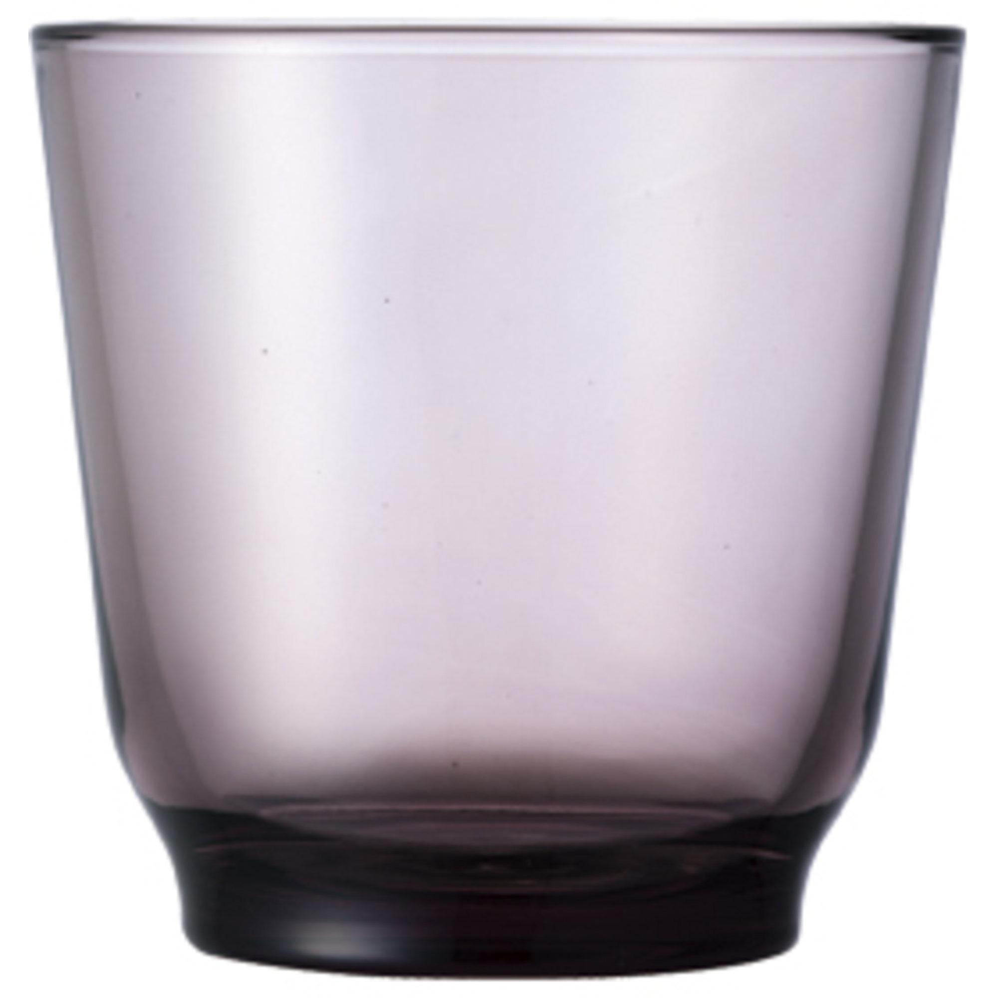 Kinto HIBI-vattenglas (220 ml) lila