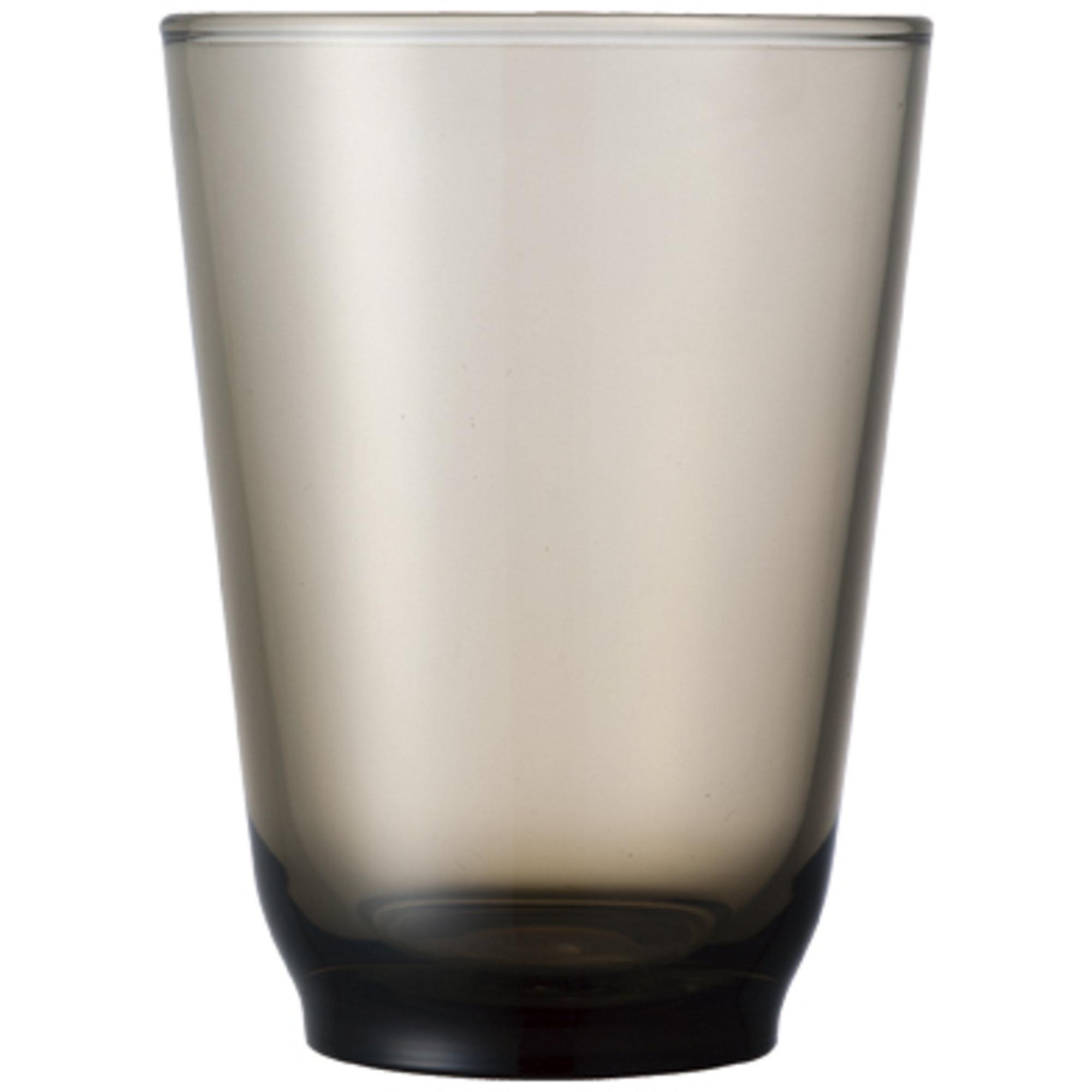 Kinto HIBI-vattenglas (350 ml) brun