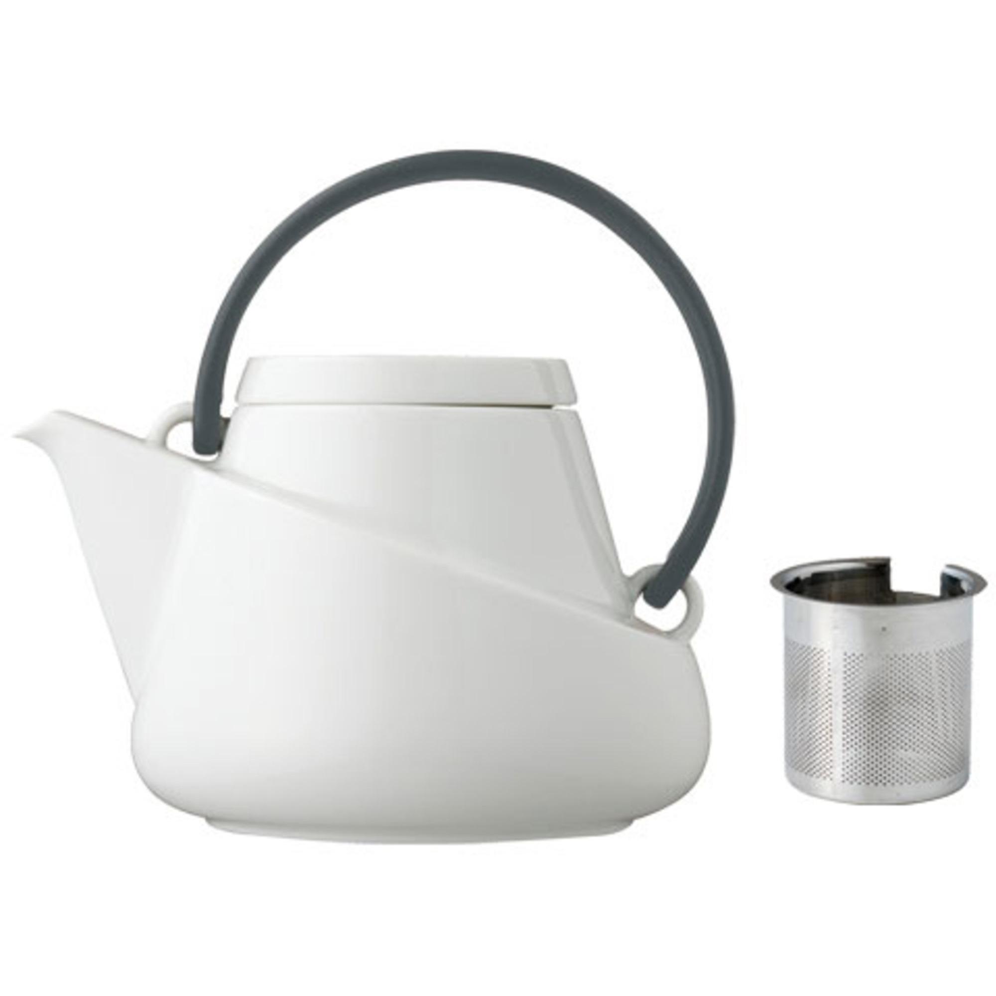 Kinto RIDGE teapot 750ml black with strainer