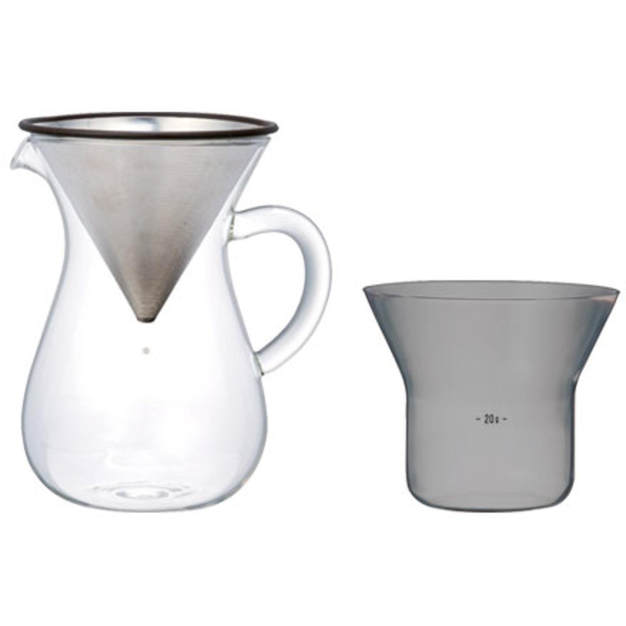 Kinto SCS Kaffe karaffel sett
