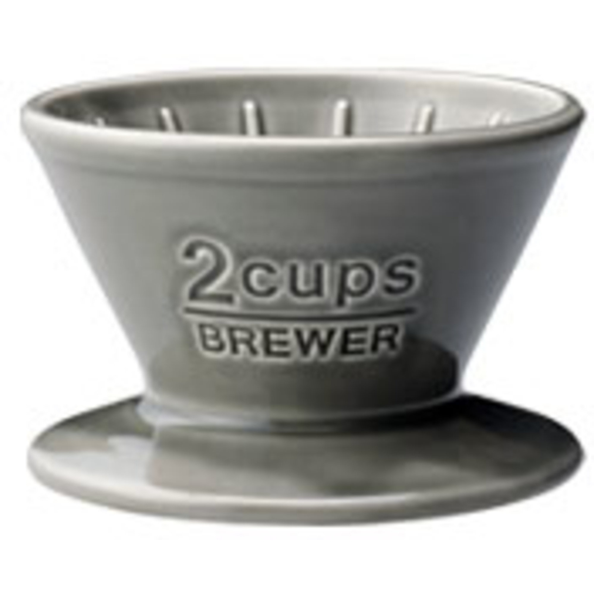 Kinto SCS-02-BR brewer 2cups gray