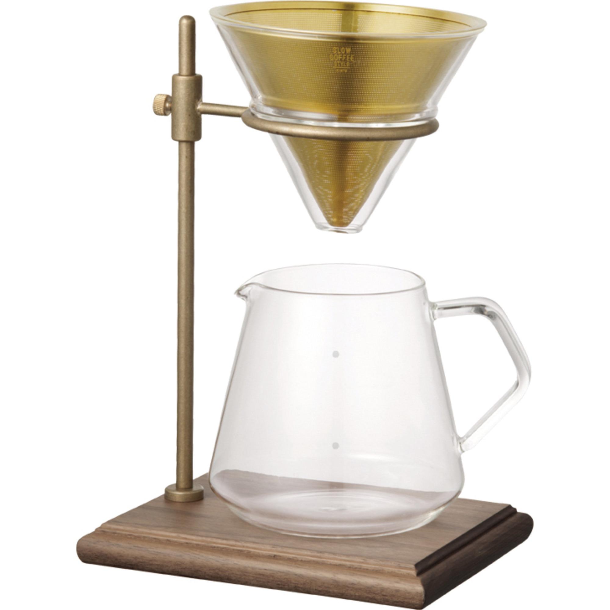 Kinto SCS-S02-Kaffetratt med stativ (4 koppar)