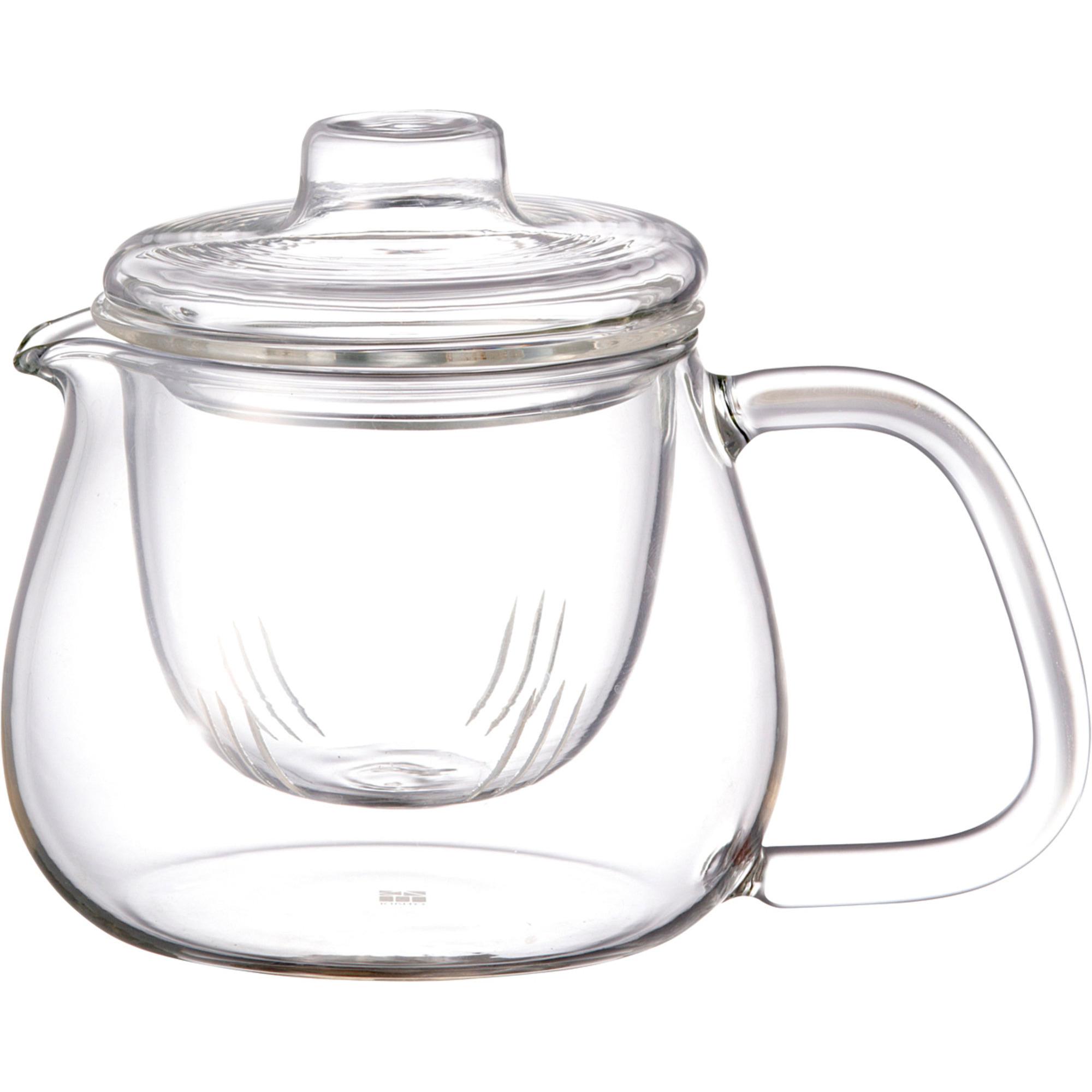 Kinto UNITEA tekanneset i glas litet