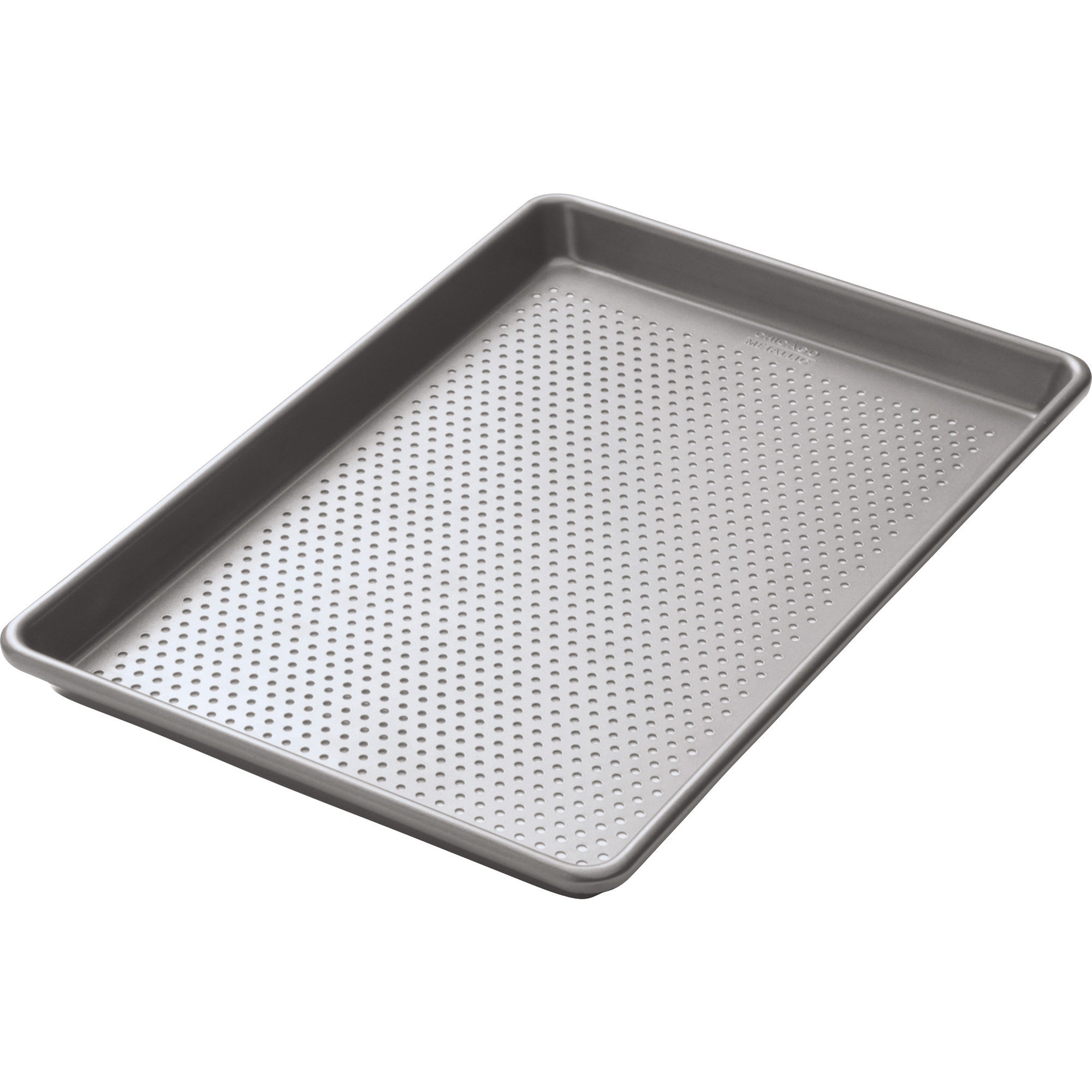 Kitchen Craft Chicago Metallic Perforerad plåt 25 x 38 cm- Non-Stick