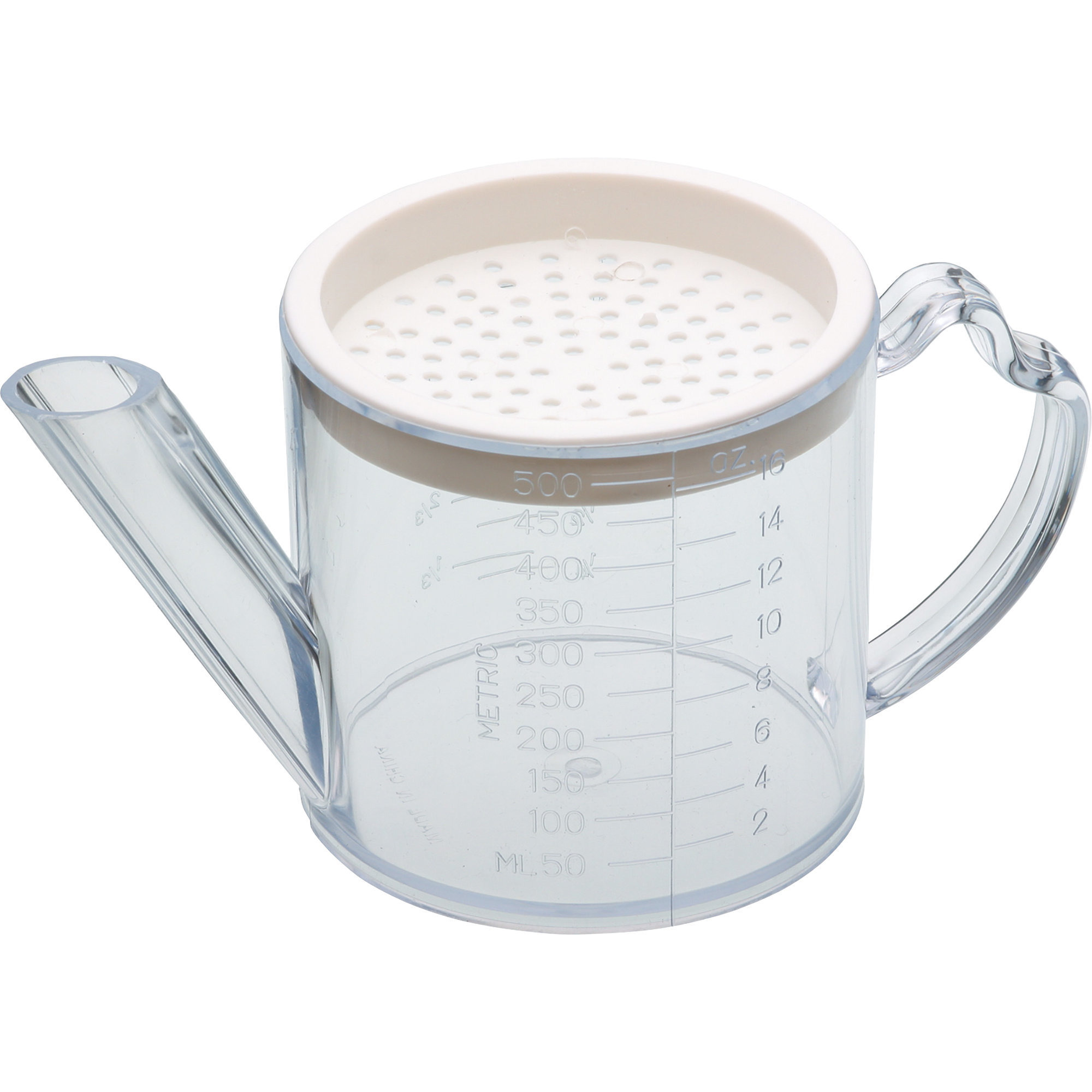 Kitchen Craft Fettseparator 500 ml Genomskinlig plast