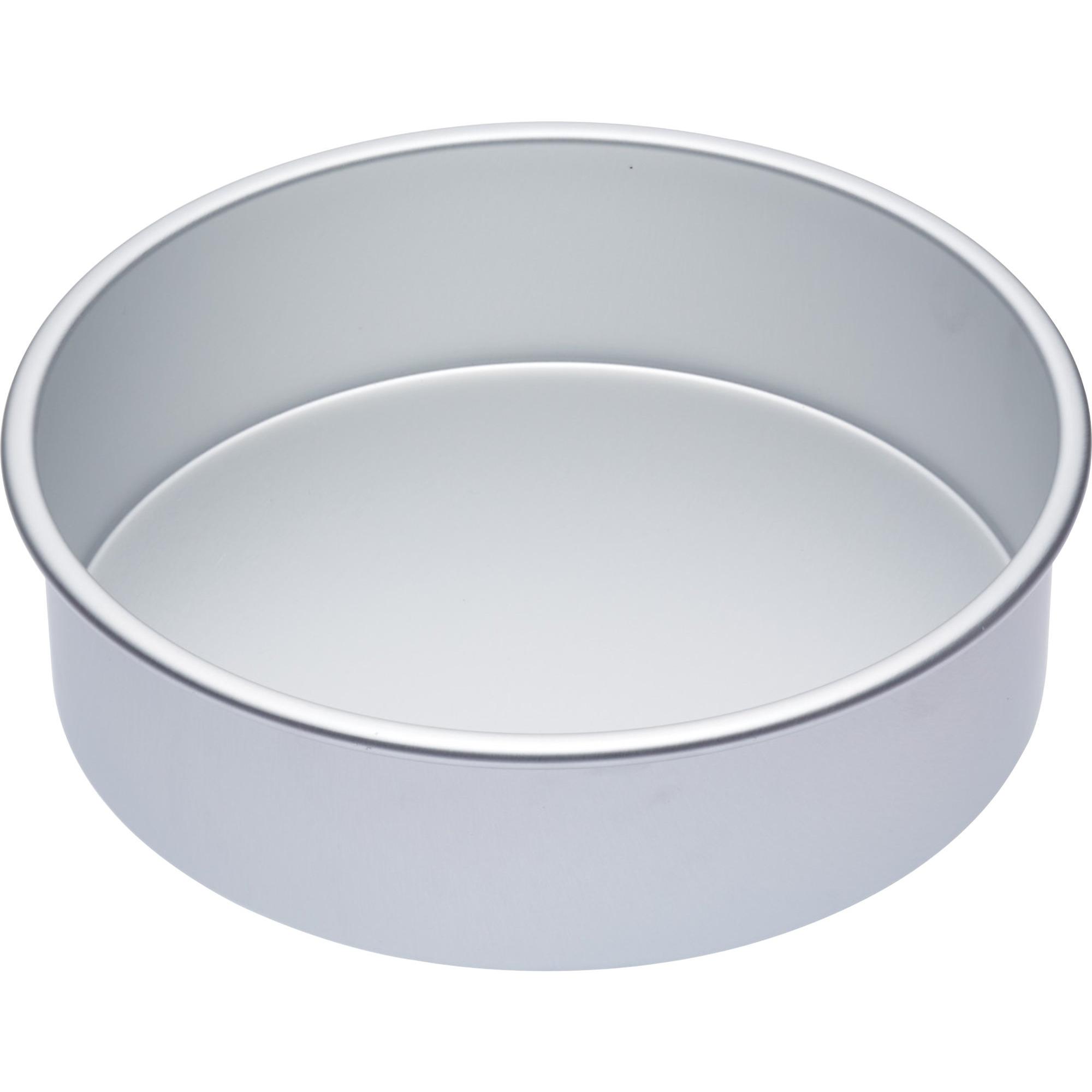 Kitchen Craft Master Class Kakform Rund Silver 30.5×7.5cm