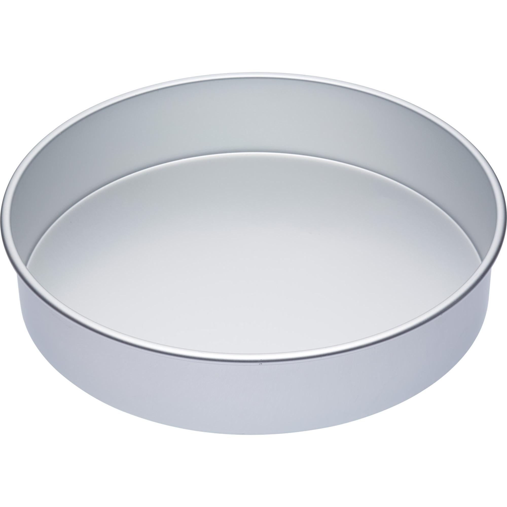 Kitchen Craft Master Class Kakform Rund Silver 35.5×7.5cm