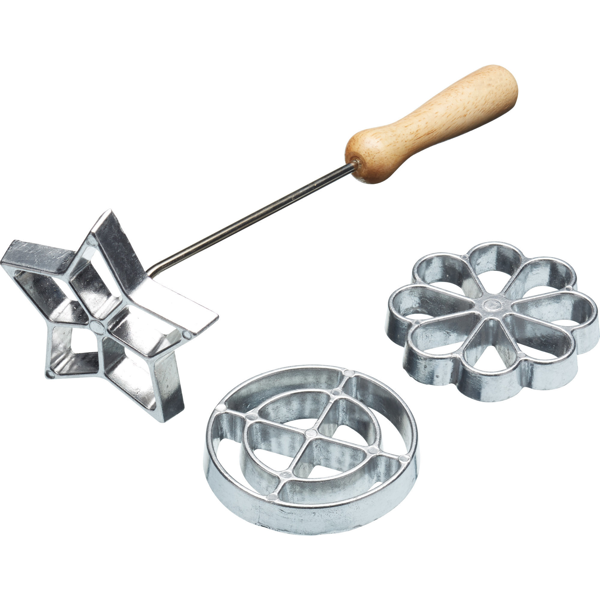 Kitchen Craft Struvjärn set om 3 Aluminium