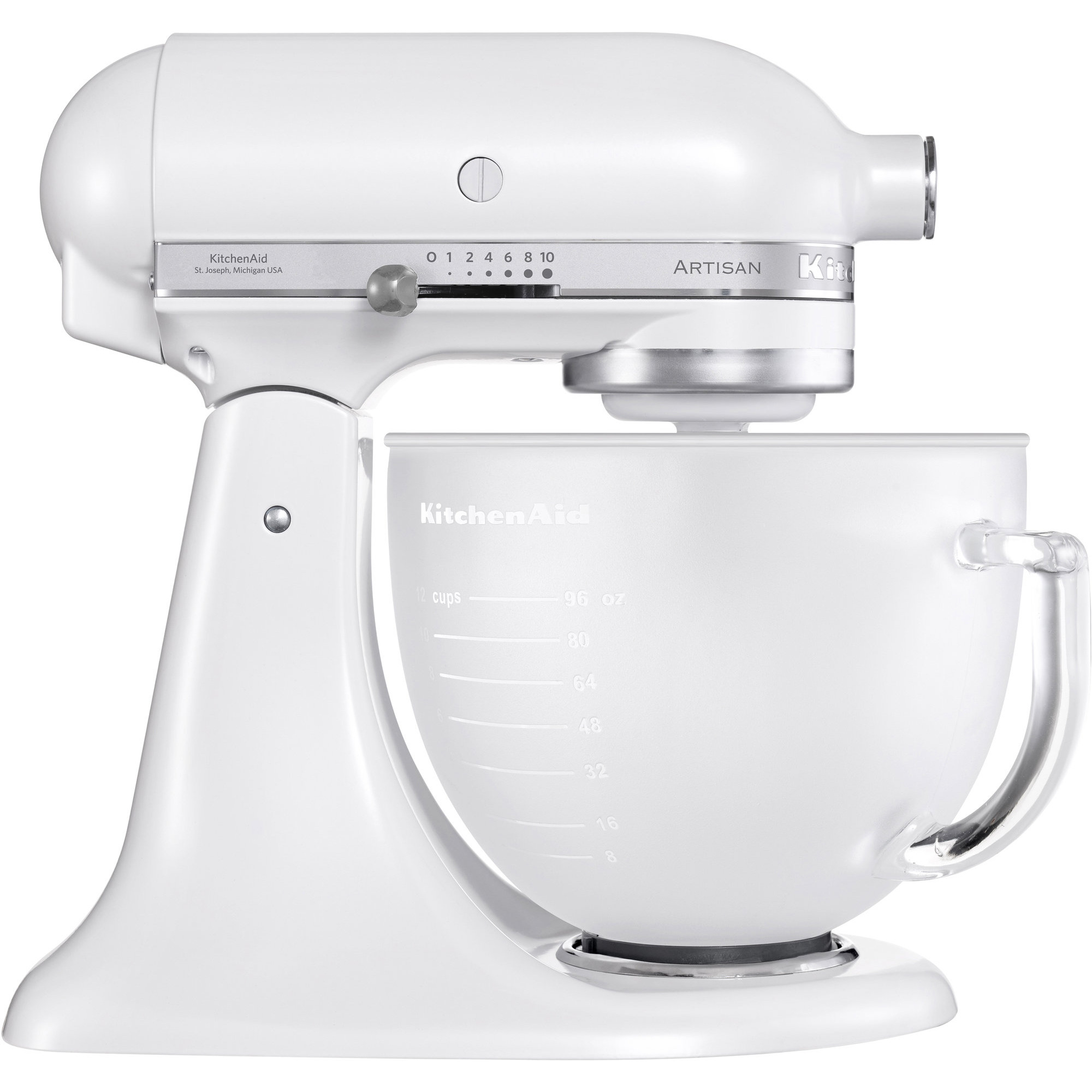 KitchenAid Artisan KSM156PSEFP Frost White Wedding Edition