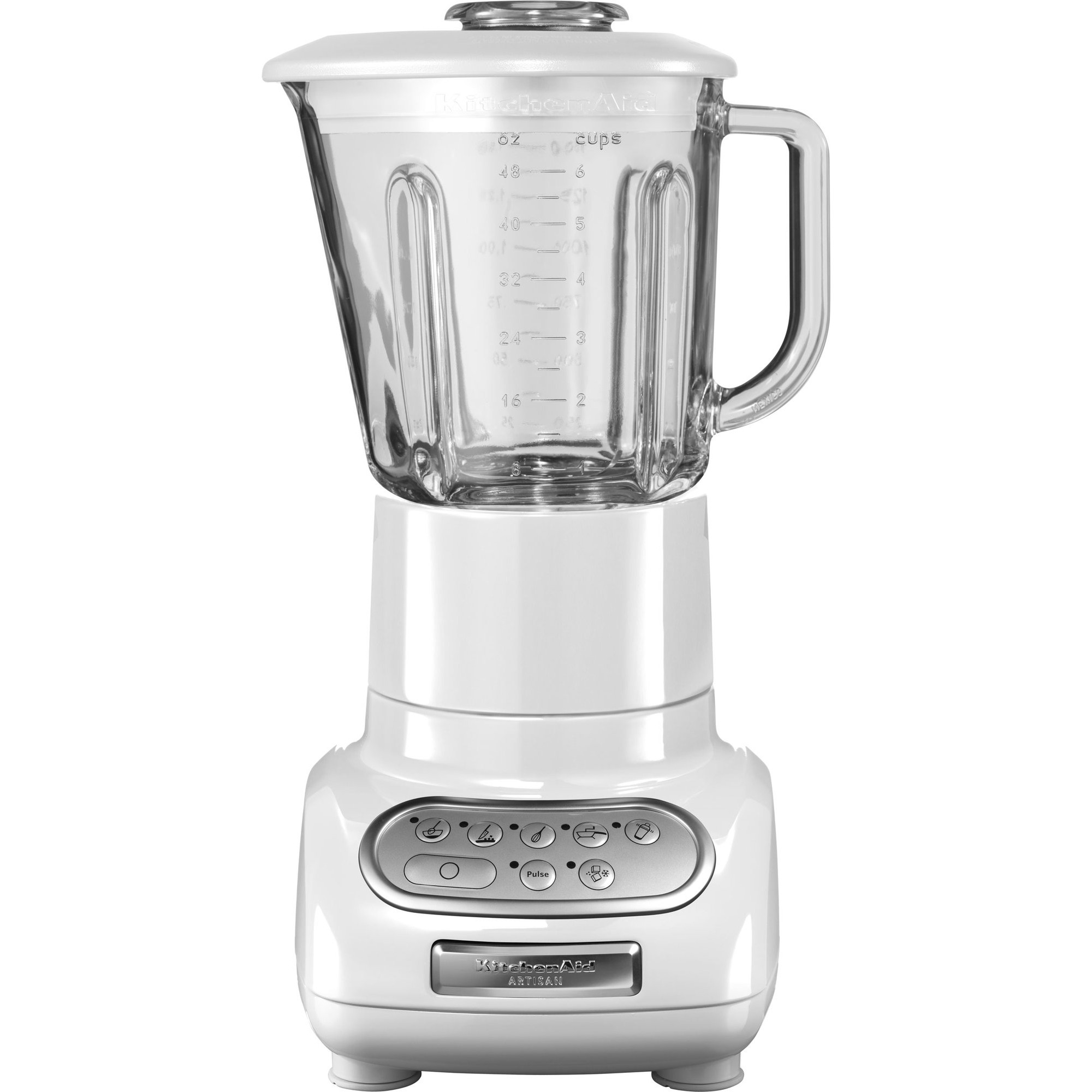 KitchenAid Artisan Mixer 5KSB555 Vit med Extra Minikanna