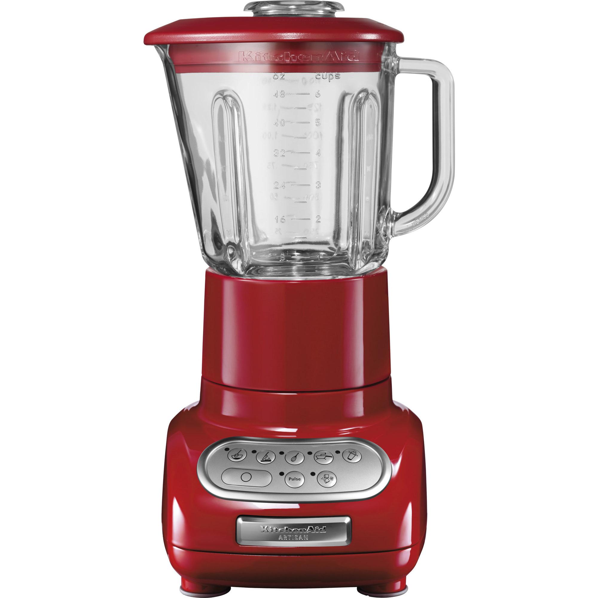 KitchenAid Artisan Mixer 5KSB555 Röd med Extra Minikanna