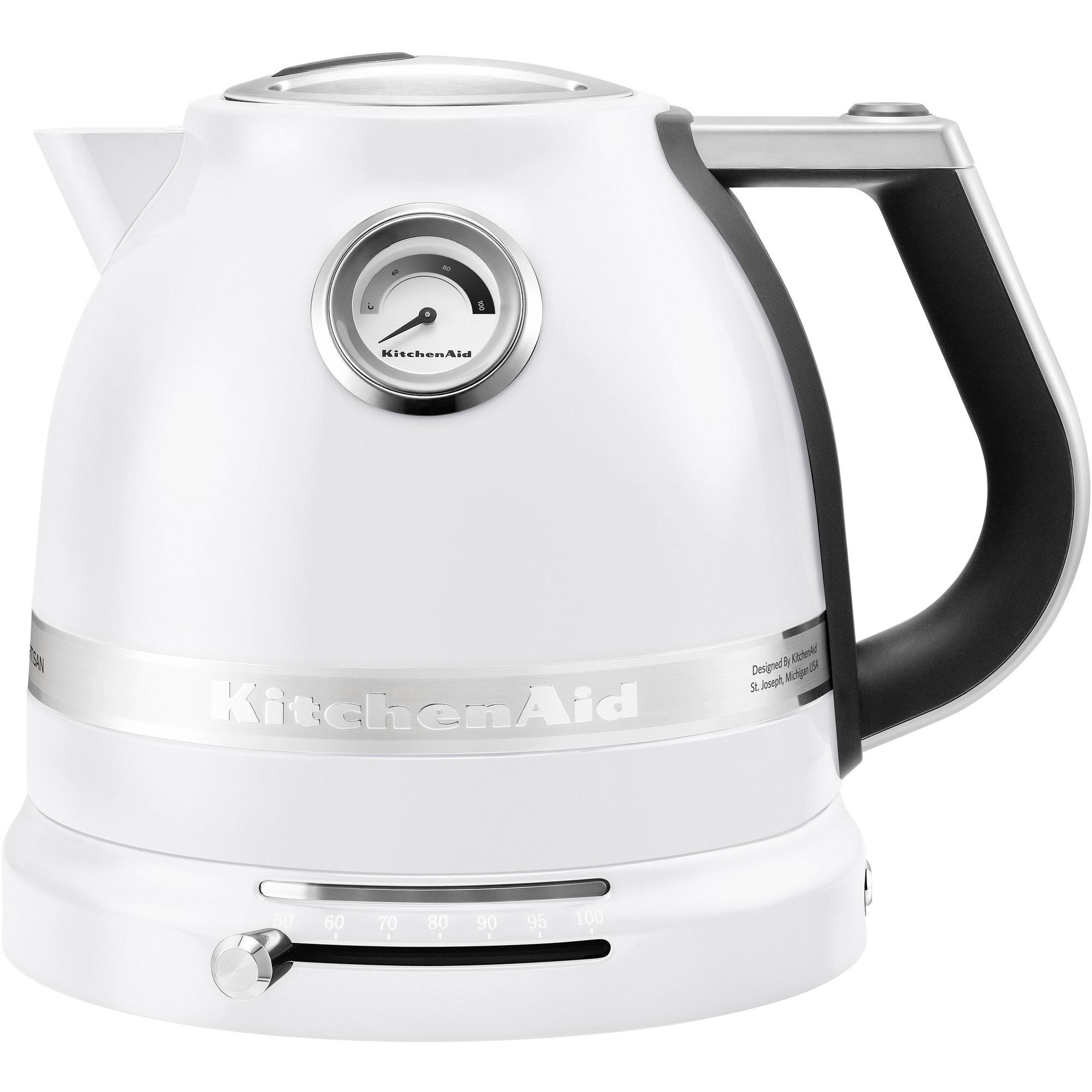 KitchenAid Artisan Vattenkokare 1.5L – Frostvit