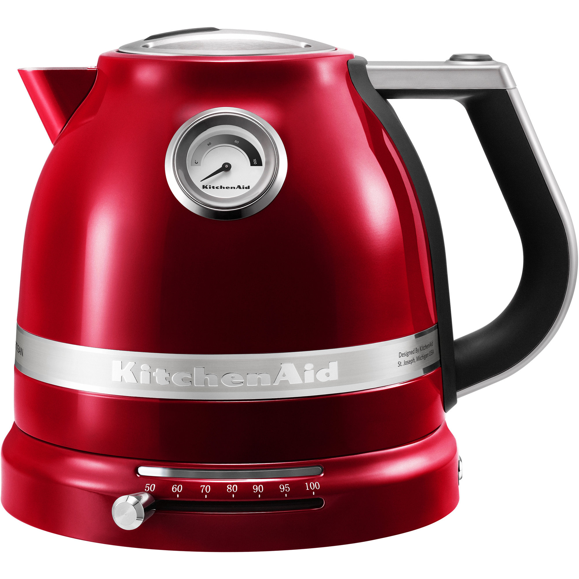 KitchenAid Artisan Vattenkokare 1.5L-Röd Metallic