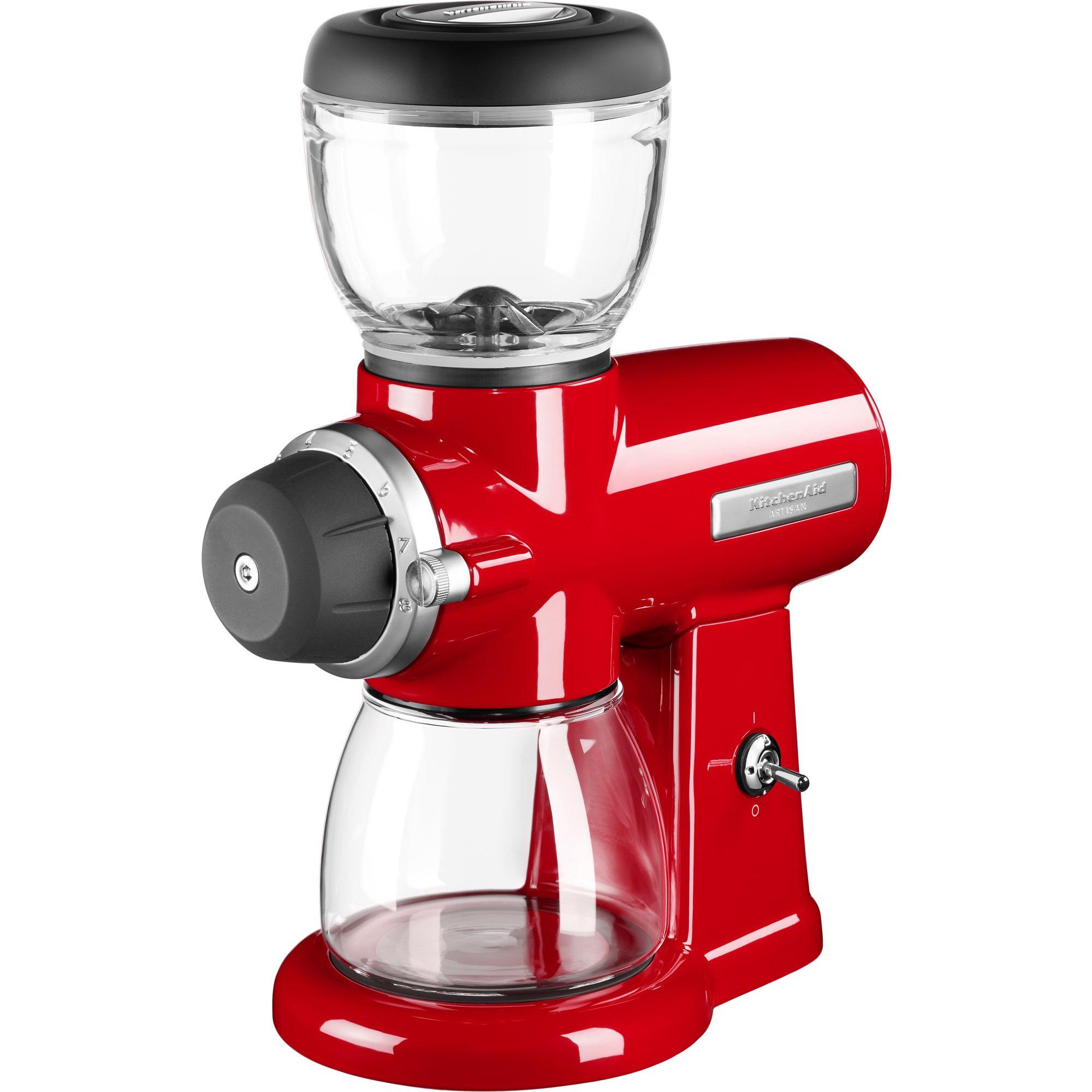 KitchenAid Artisan Kaffekvarn – Röd