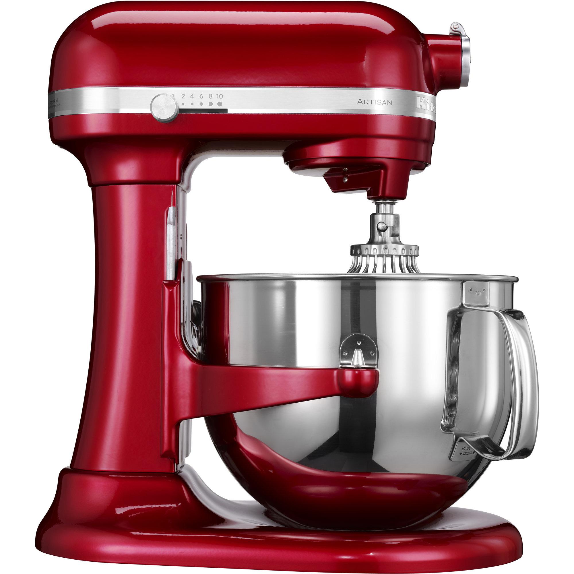 KitchenAid Artisan 7580ECA Lyftarm 69 liter Röd Metallic