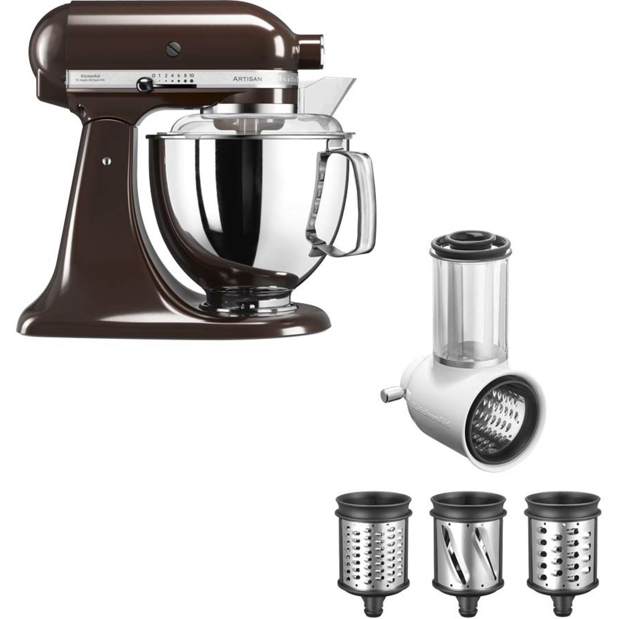 KitchenAid Artisan 175 Espressobrun + Grönsaksskärare 5KSMVSA