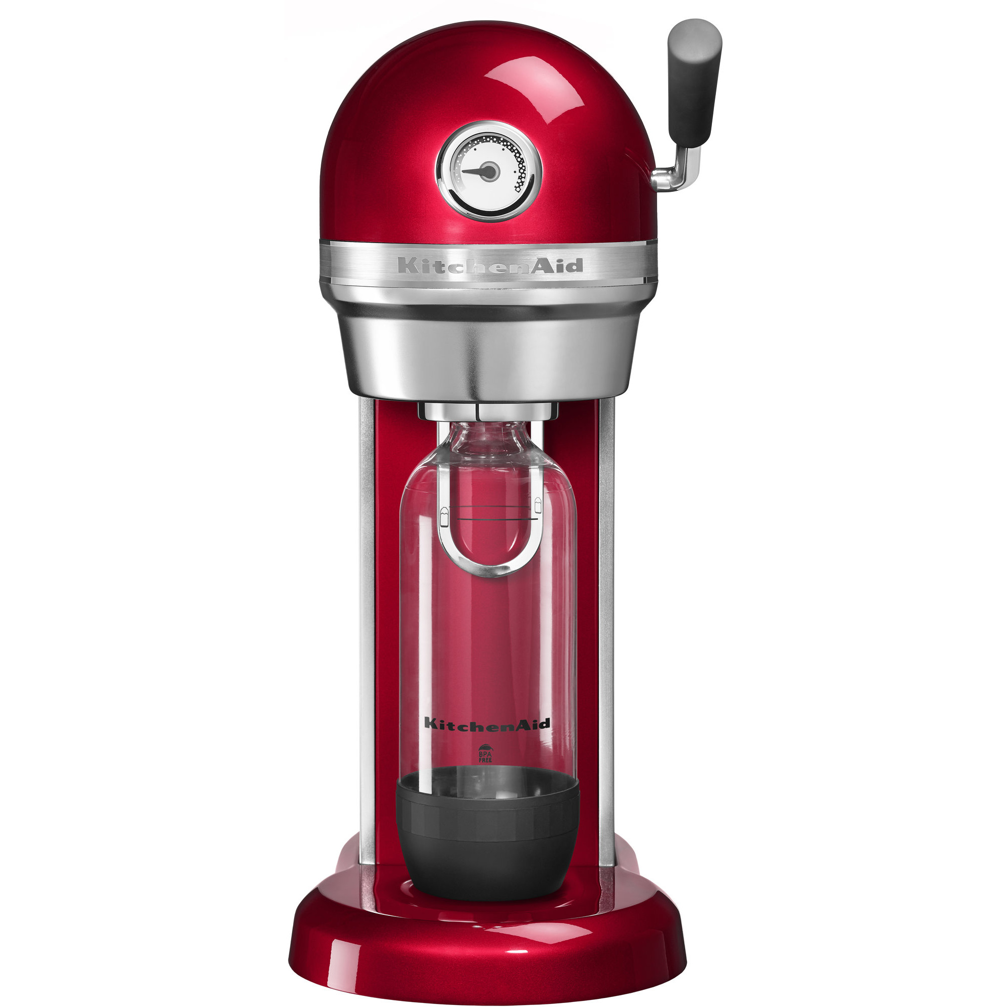 KitchenAid Kolsyremaskin Röd Metallic