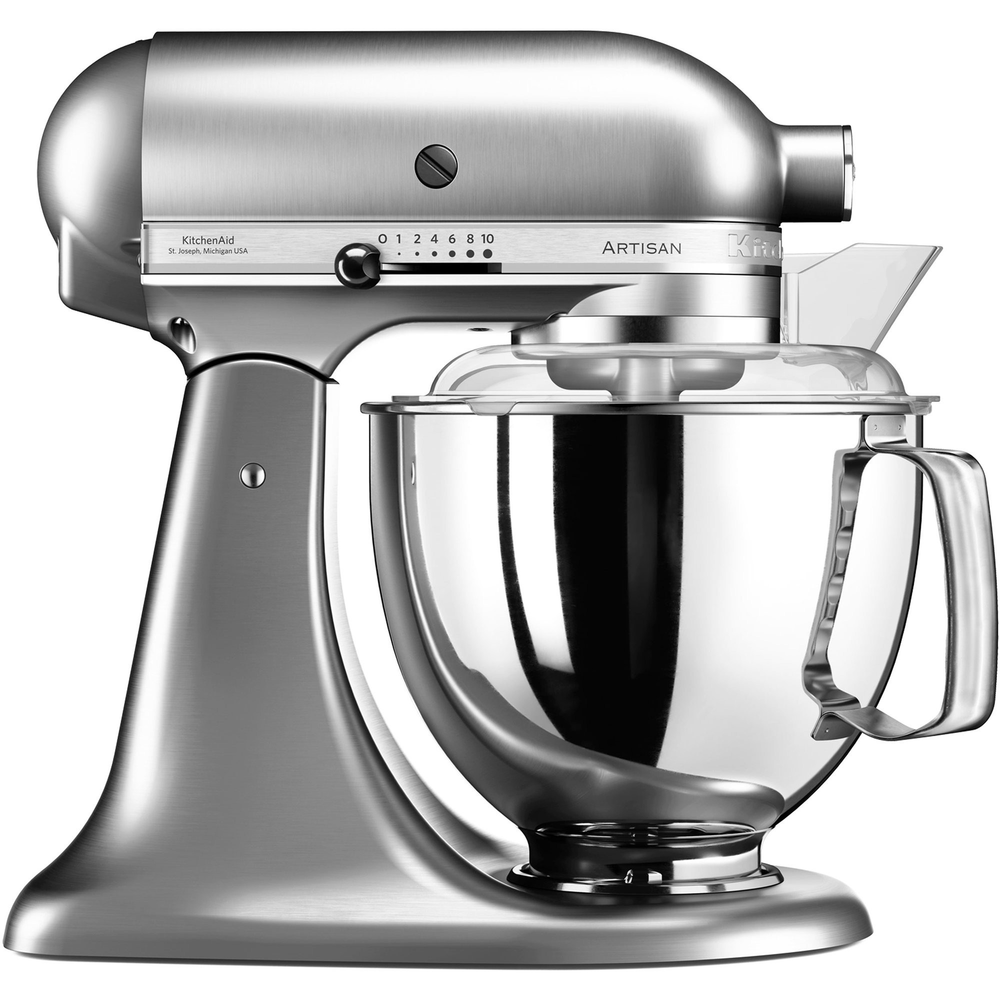 KitchenAid Artisan KSM175PSENK Borstad Nickel