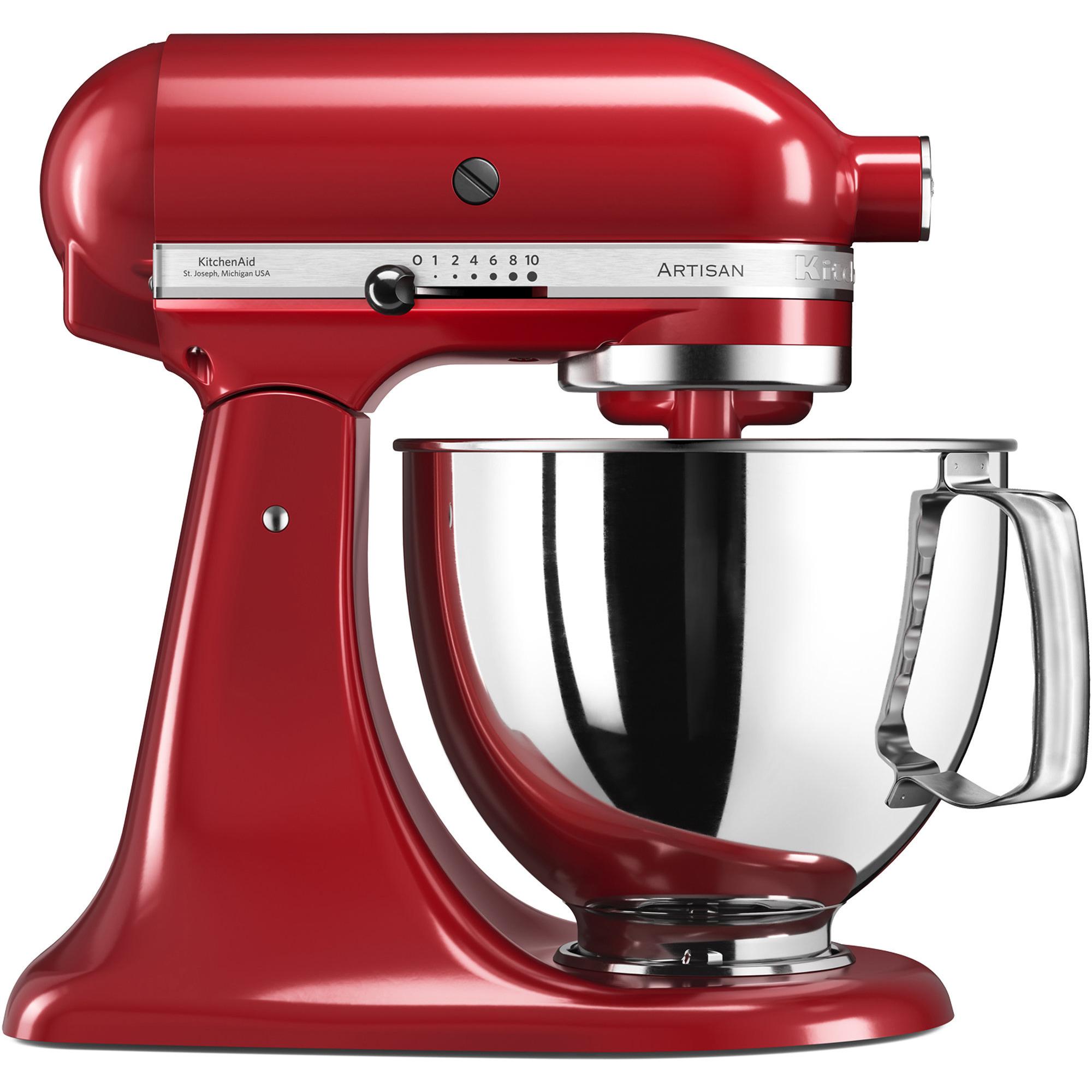 KitchenAid Artisan KSM125PSEER Röd