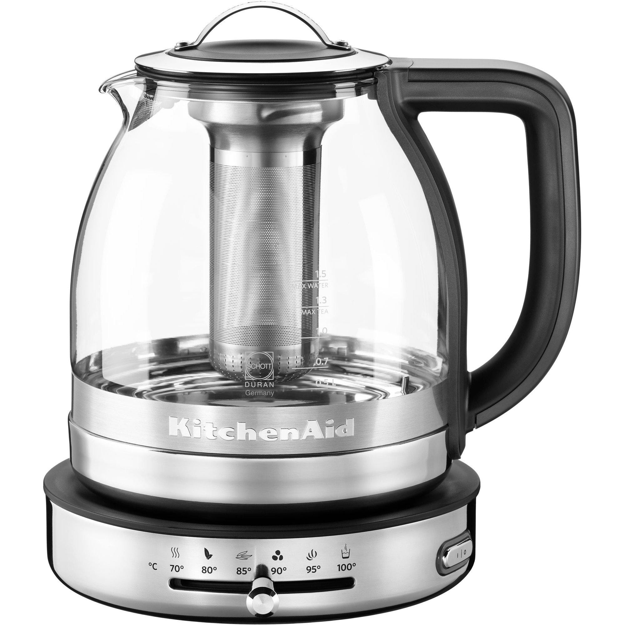KitchenAid Artisan Tebryggare/Vattenkokare 1,5 liter Klar