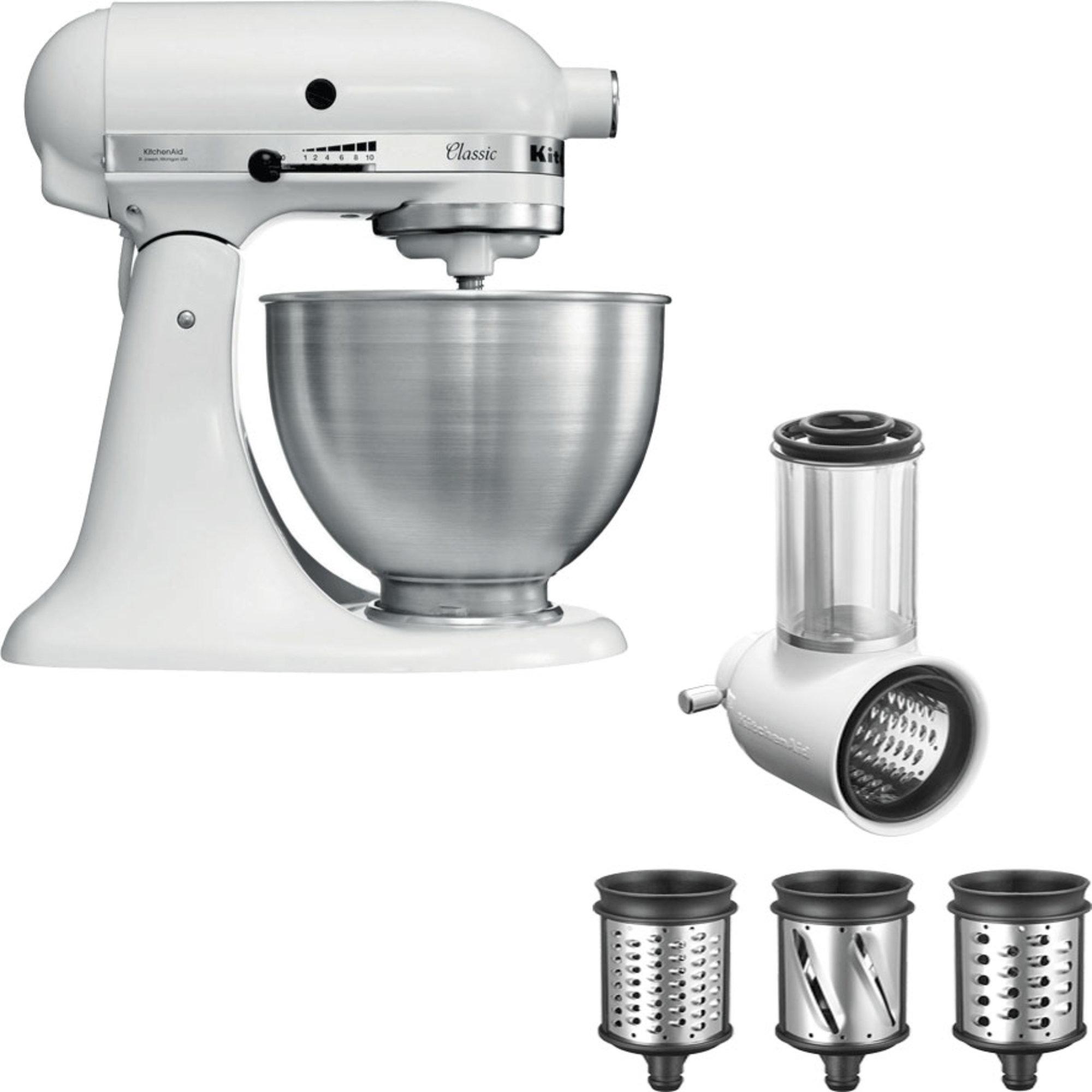 KitchenAid Classic Köksmaskin + Grönsaksskärare