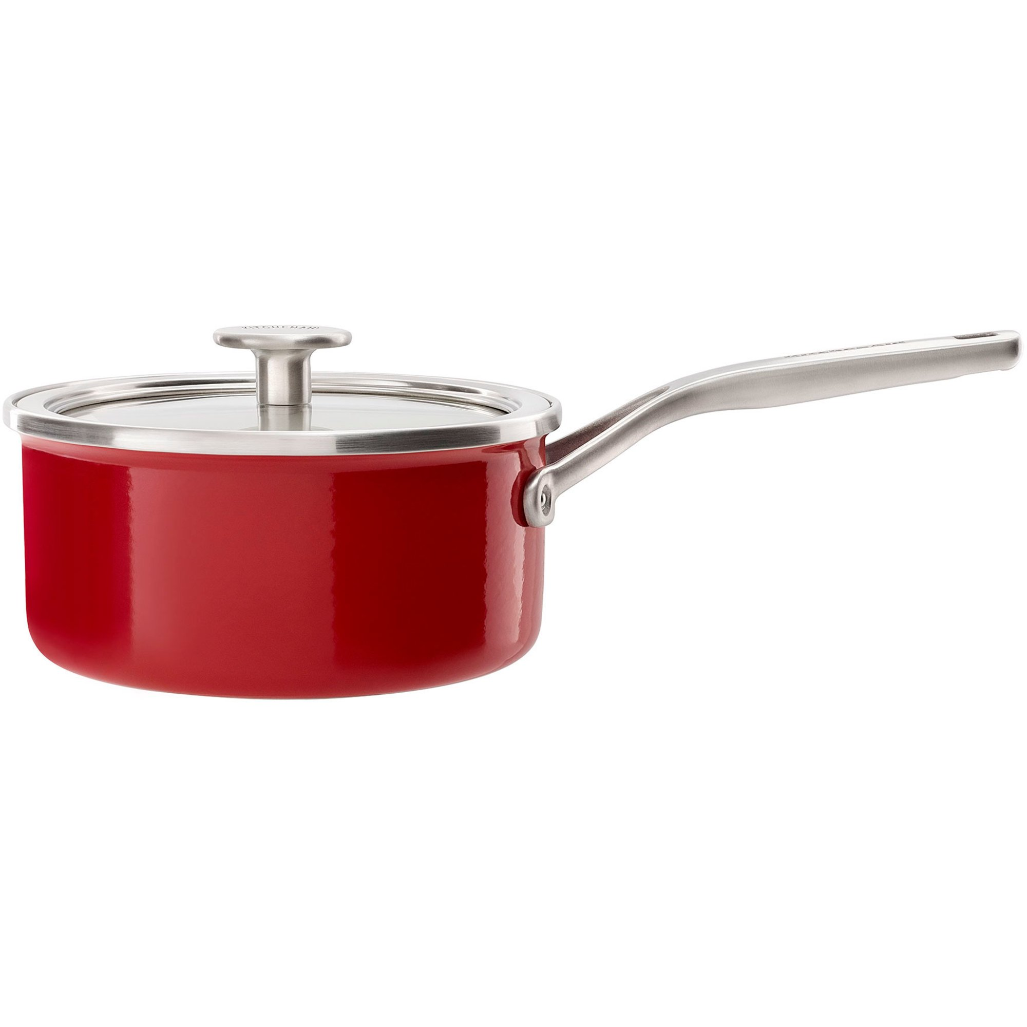 KitchenAid Cookware Collection Kastrull m/lock röd 16 cm