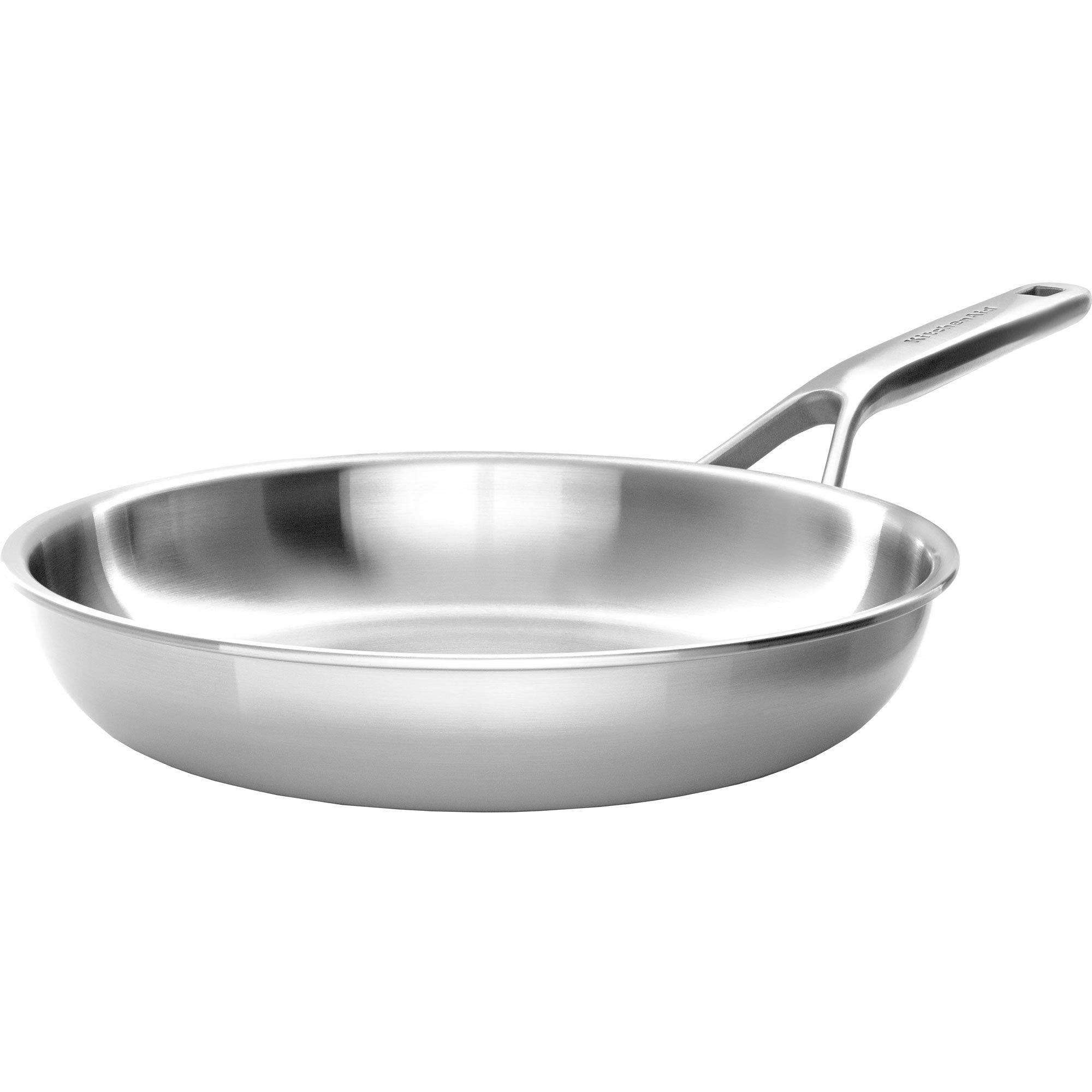 KitchenAid Cookware Collection Stekpanna silver 24 cm