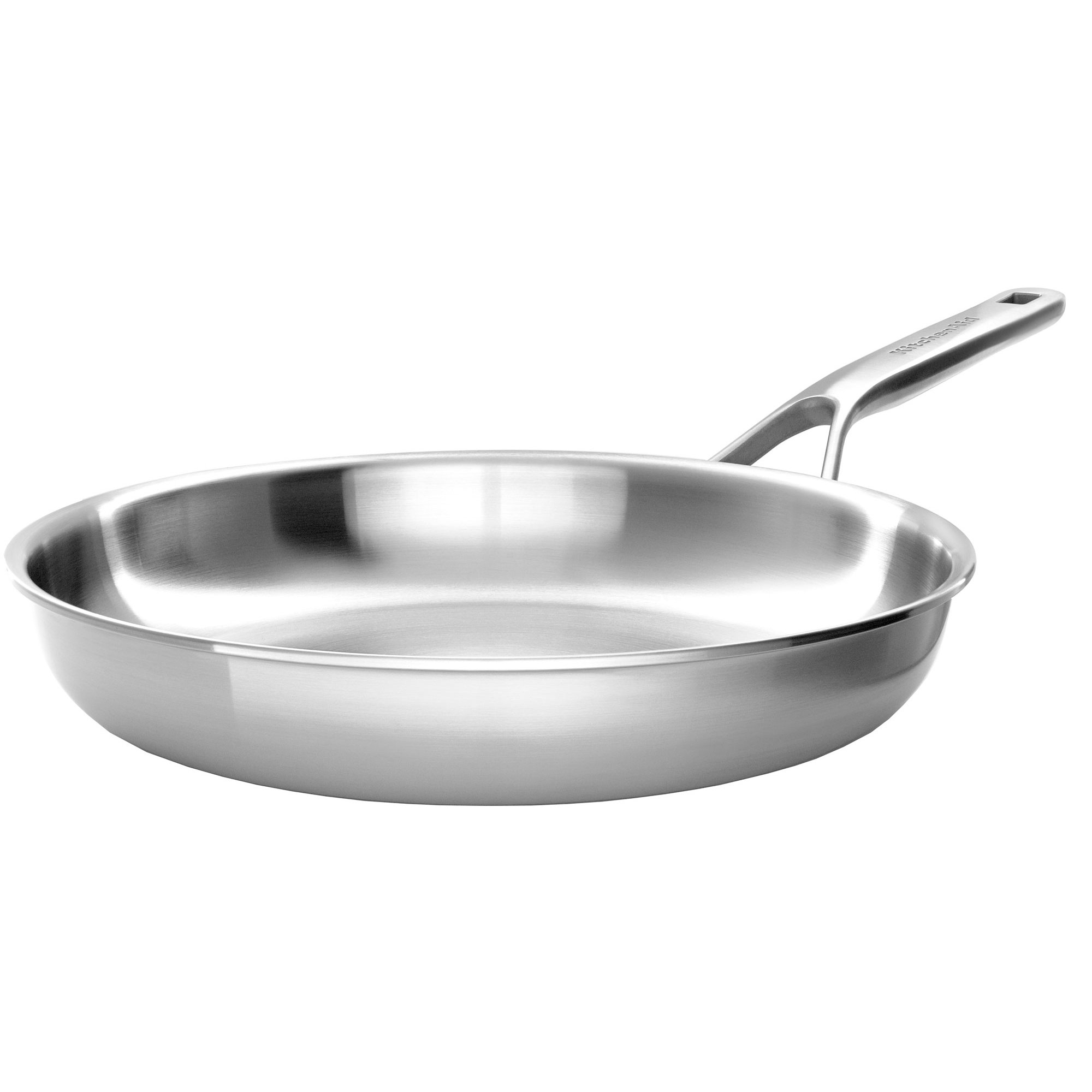 KitchenAid Cookware Collection Stekpanna silver 28 cm