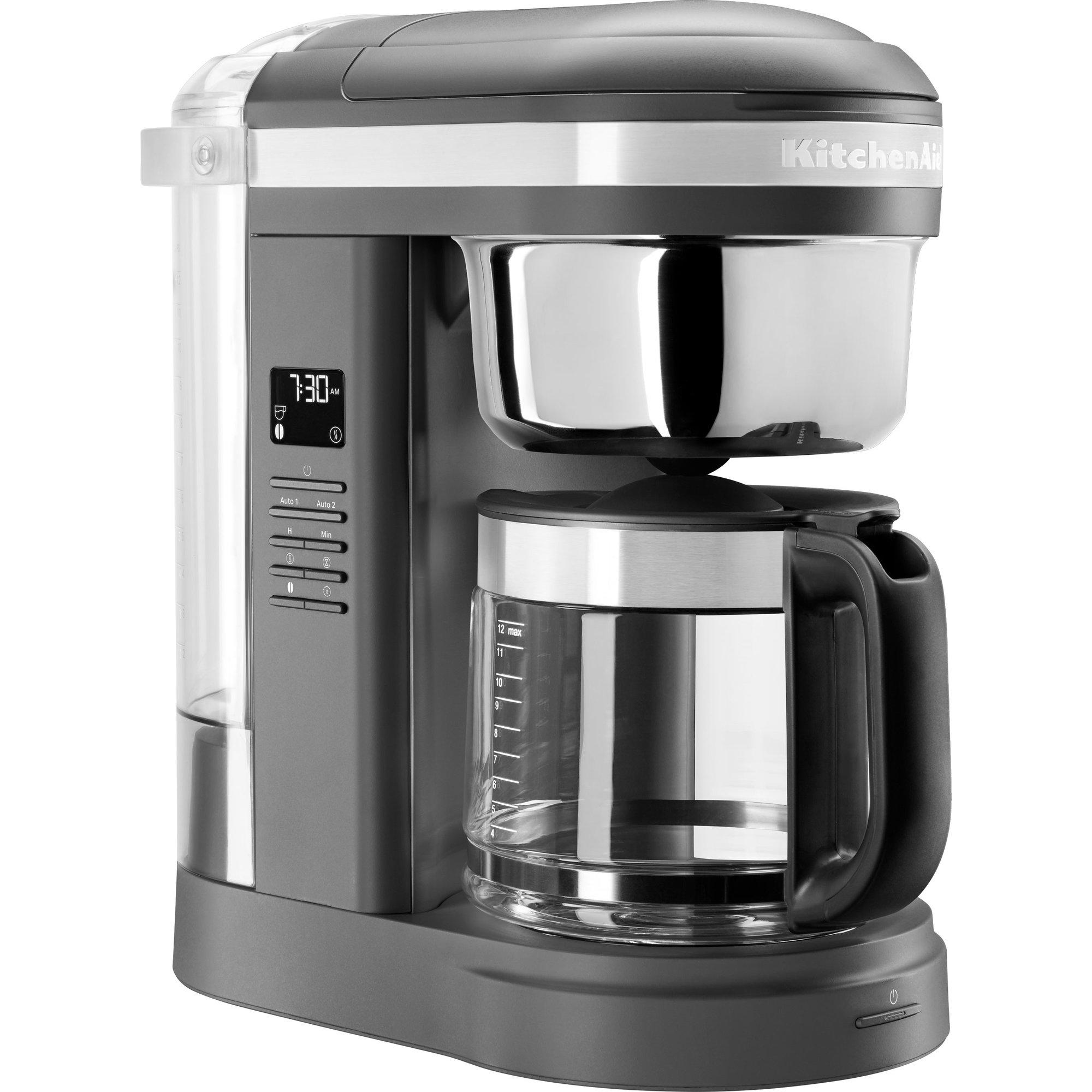 KitchenAid 5KCM1209EDG kaffebryggare Charcoal