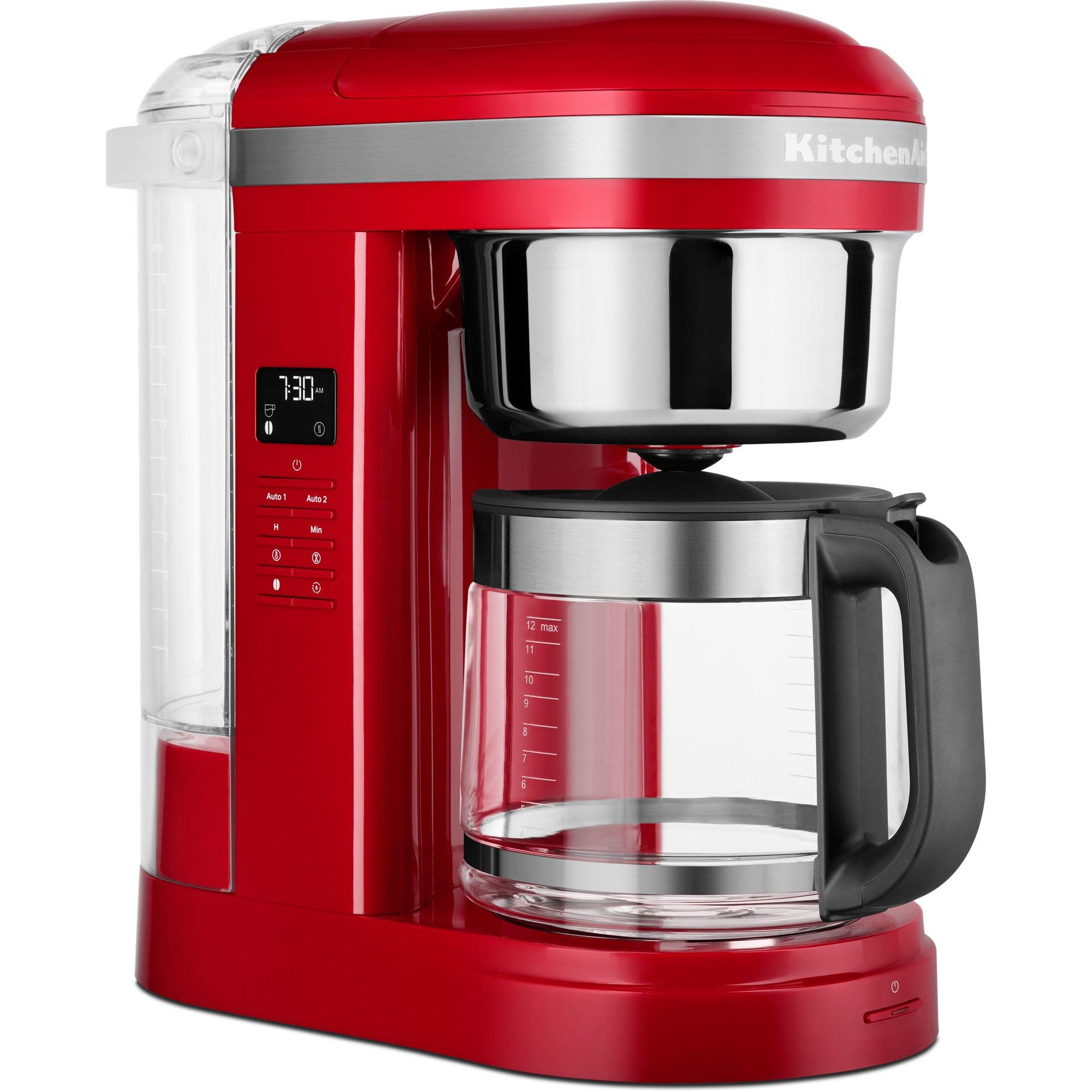 KitchenAid 5KCM1209EER kaffebryggare Empire Red