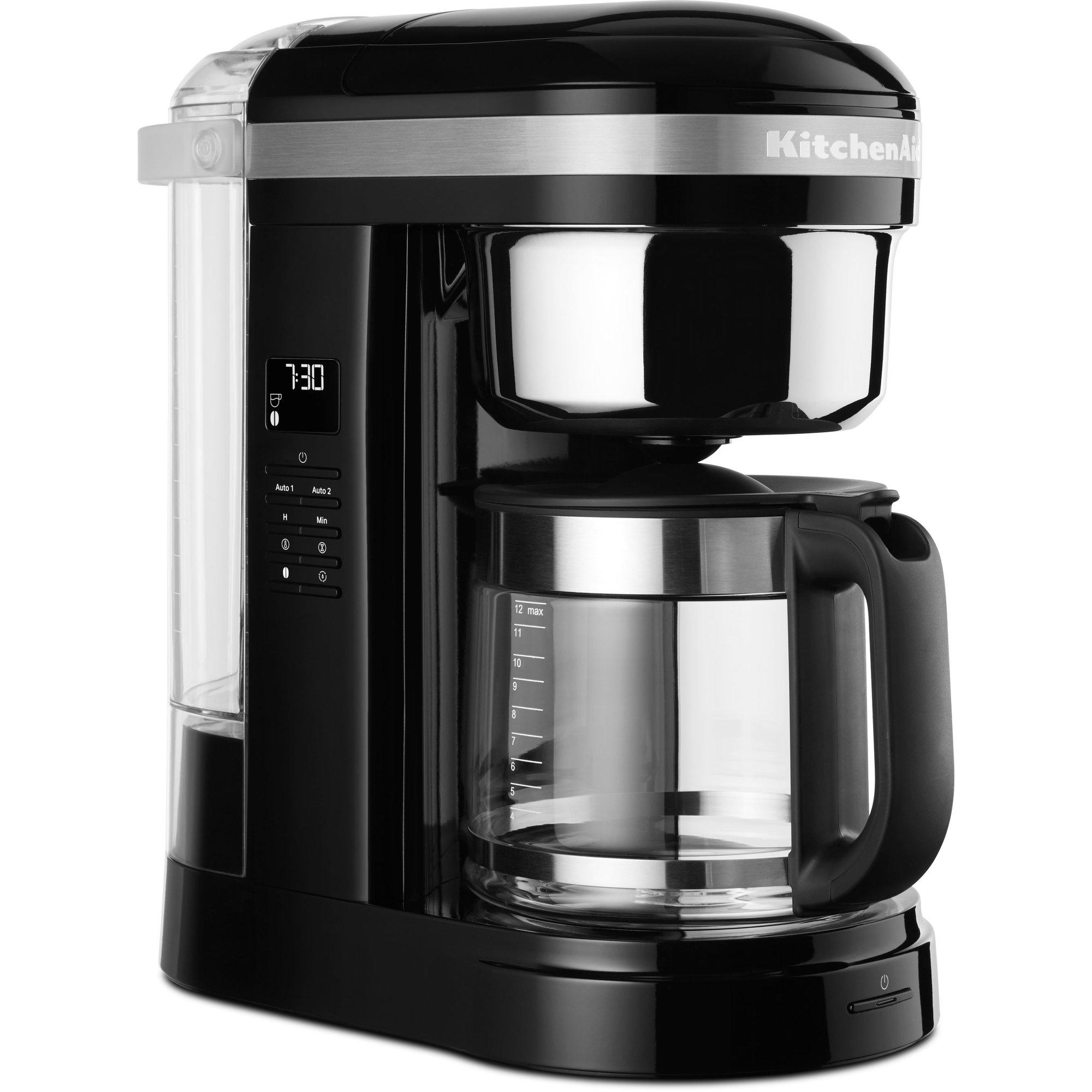 KitchenAid 5KCM1209EOB Kaffebryggare Onyx Black