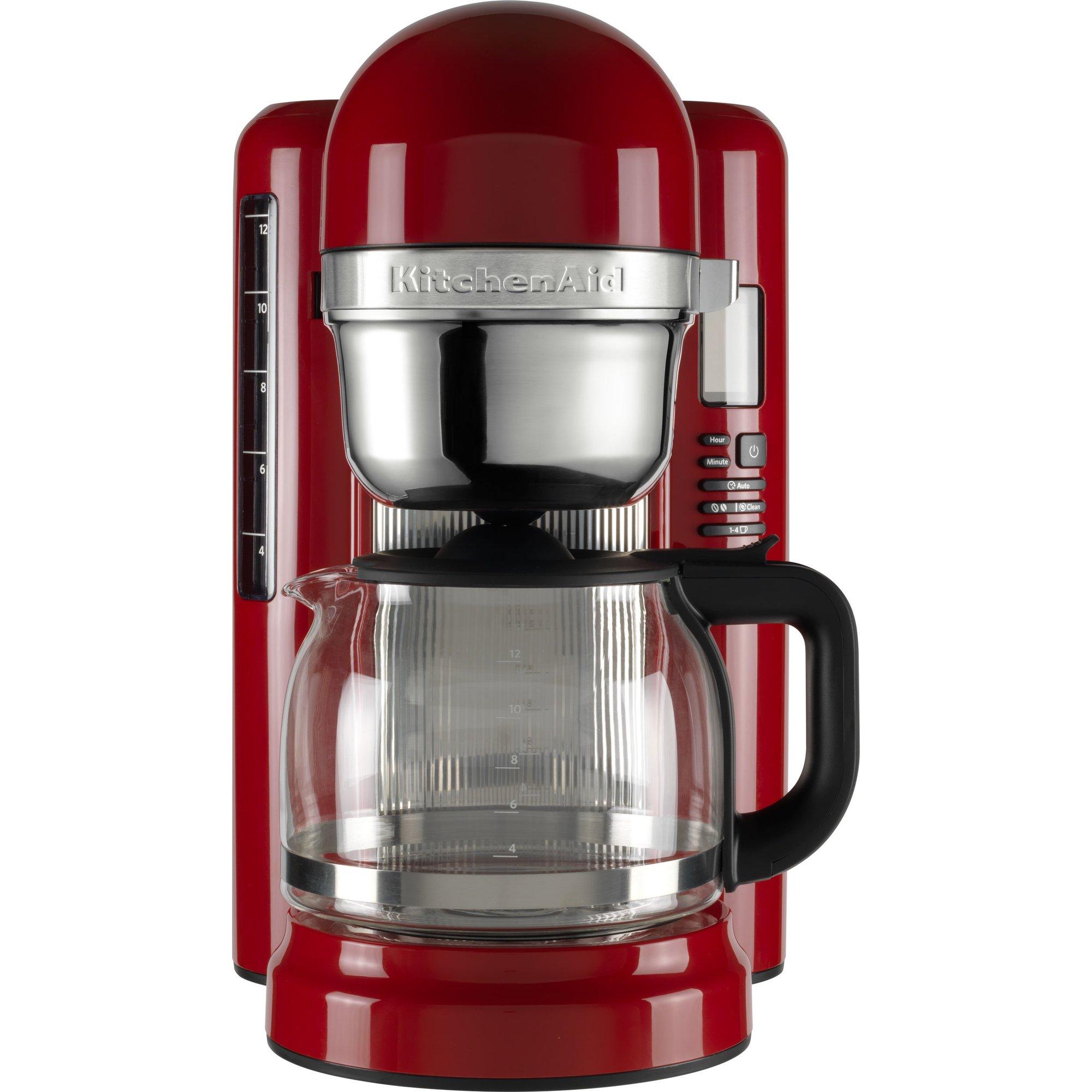 Kaffemaskin 1,7L, Röd från KitchenAid » Fri frakt