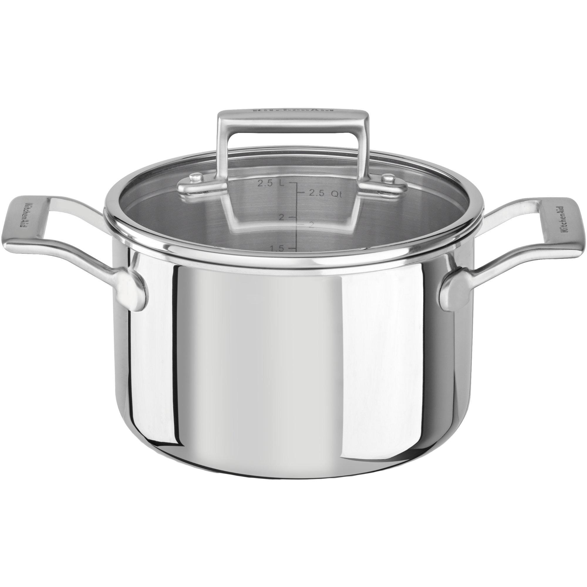 KitchenAid Kastrull med Lock 18 cm/25 L
