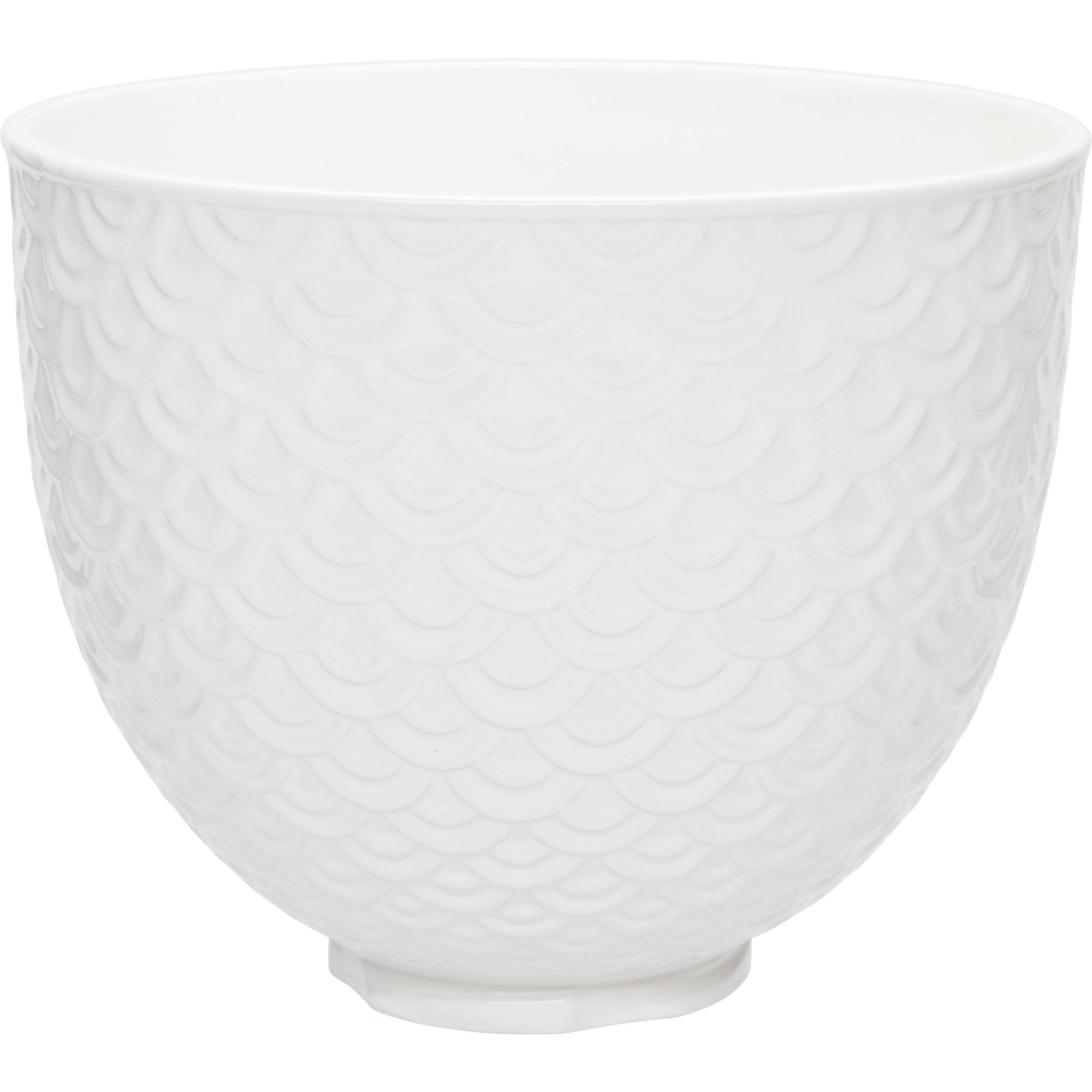 KitchenAid Keramikskål Mermaid Lace White 47 L