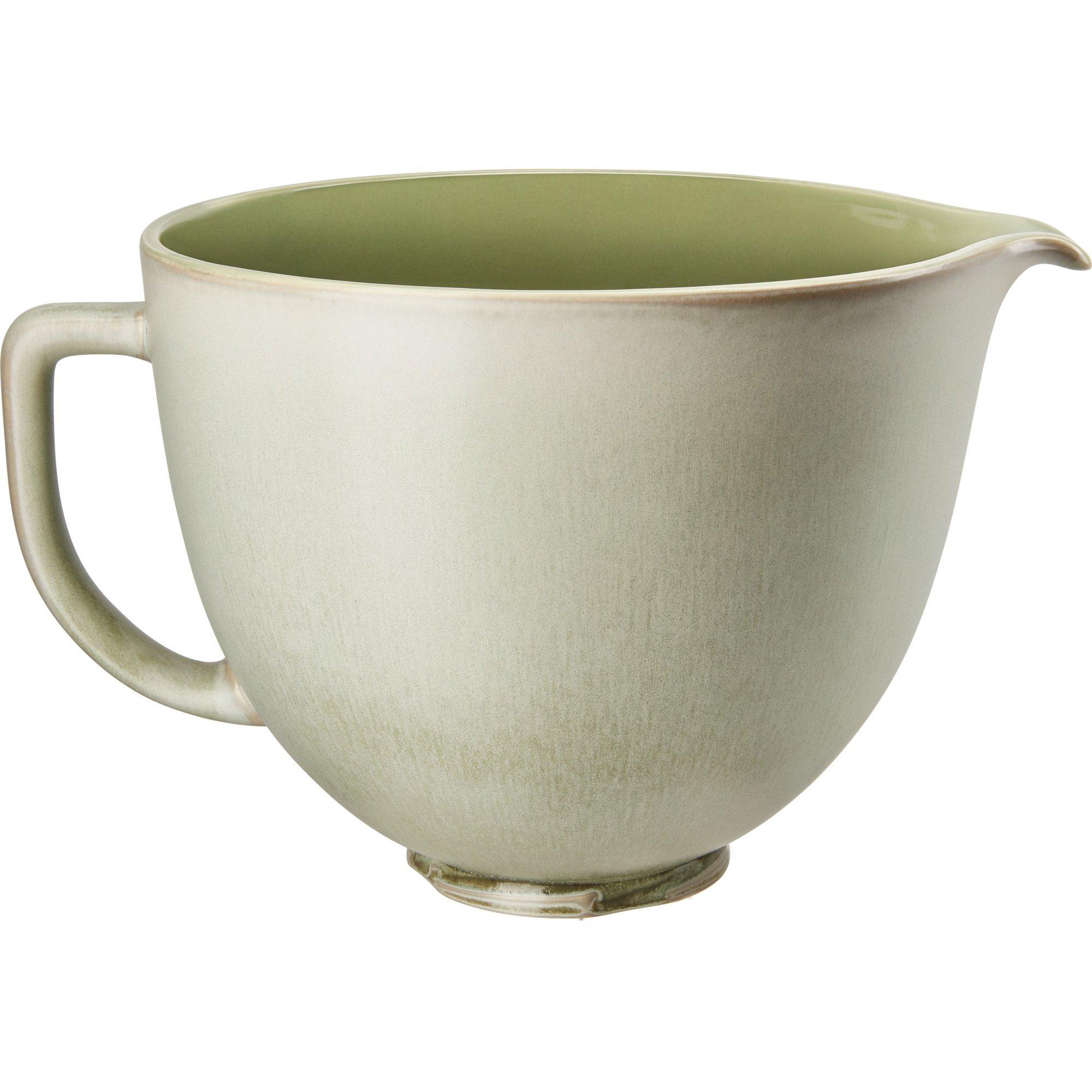 KitchenAid Keramikskål 47 L Sage Leaf