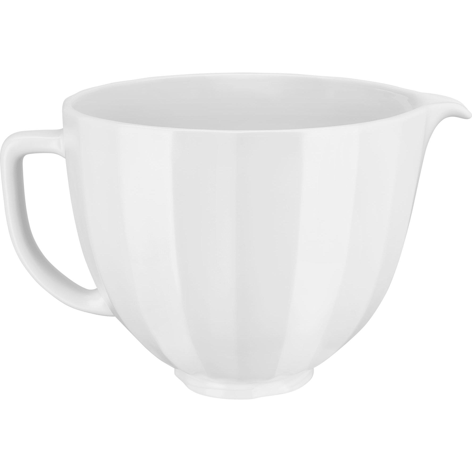 KitchenAid Keramikskål 47 L White Shell