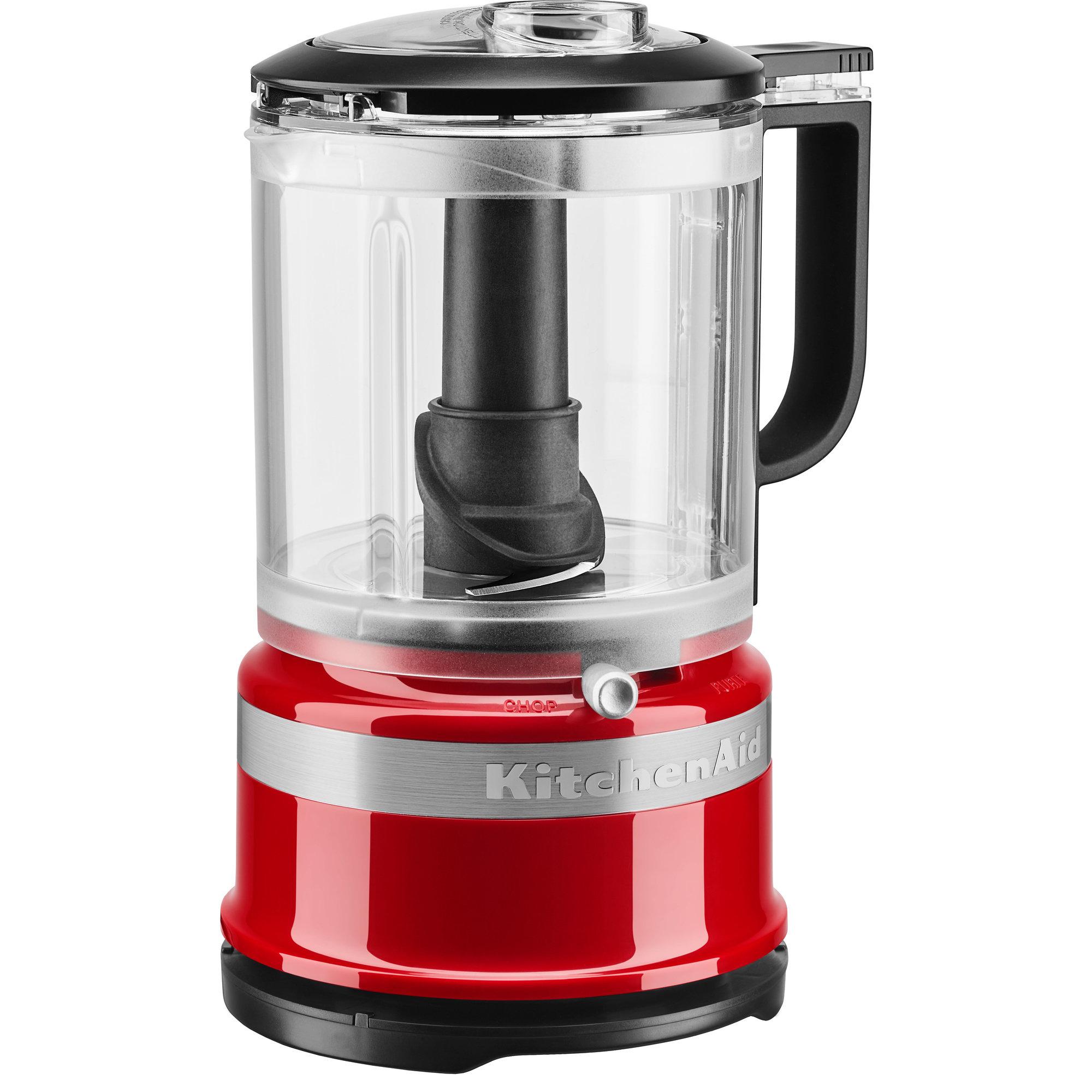 KitchenAid 5KFC0516 119 Liter Mini matberedare Röd