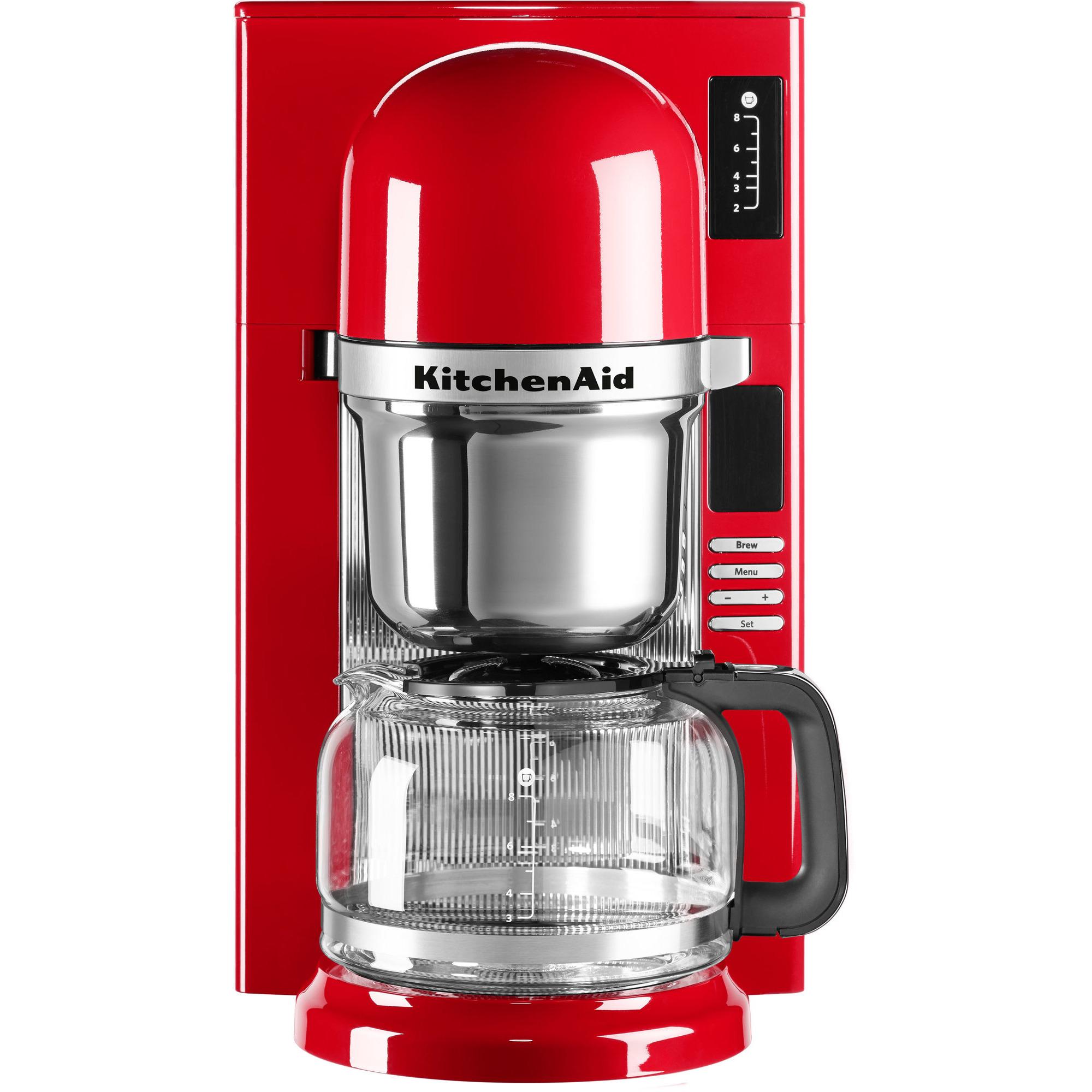 KitchenAid Kaffebryggare Röd