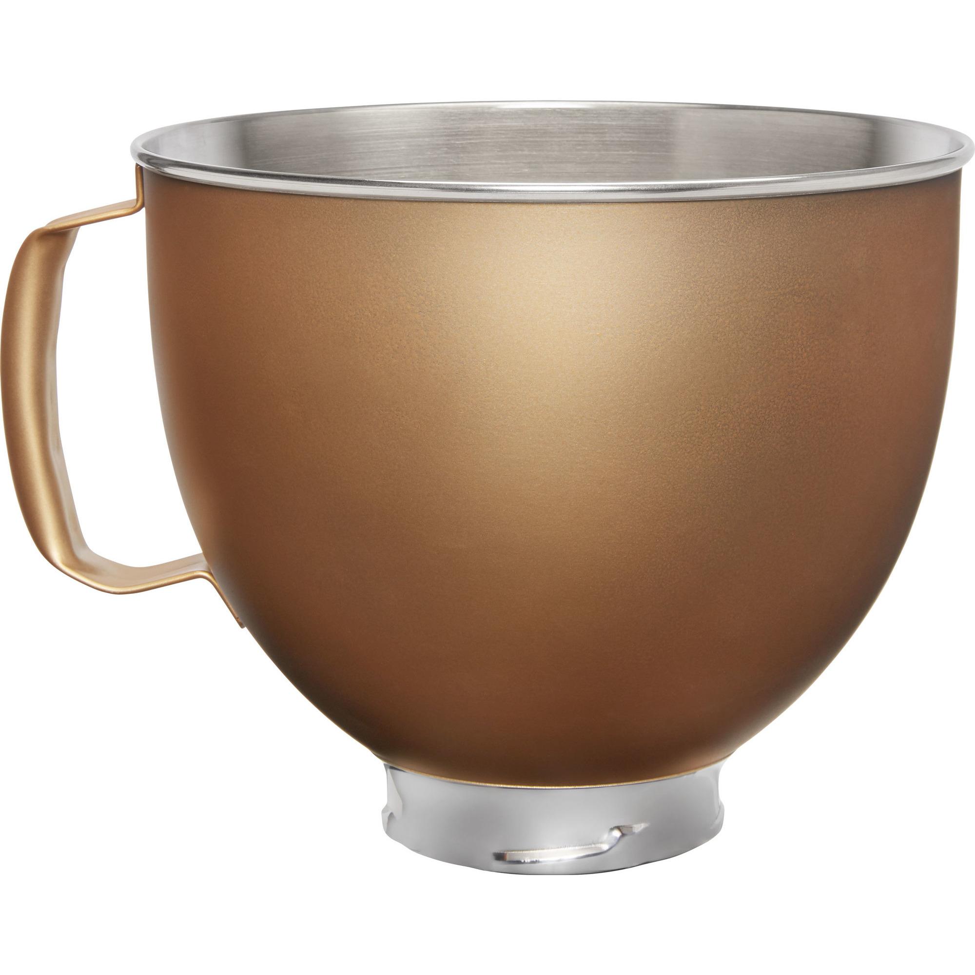 KitchenAid Skål i rostfritt stål till K5 Köksmaskin guld