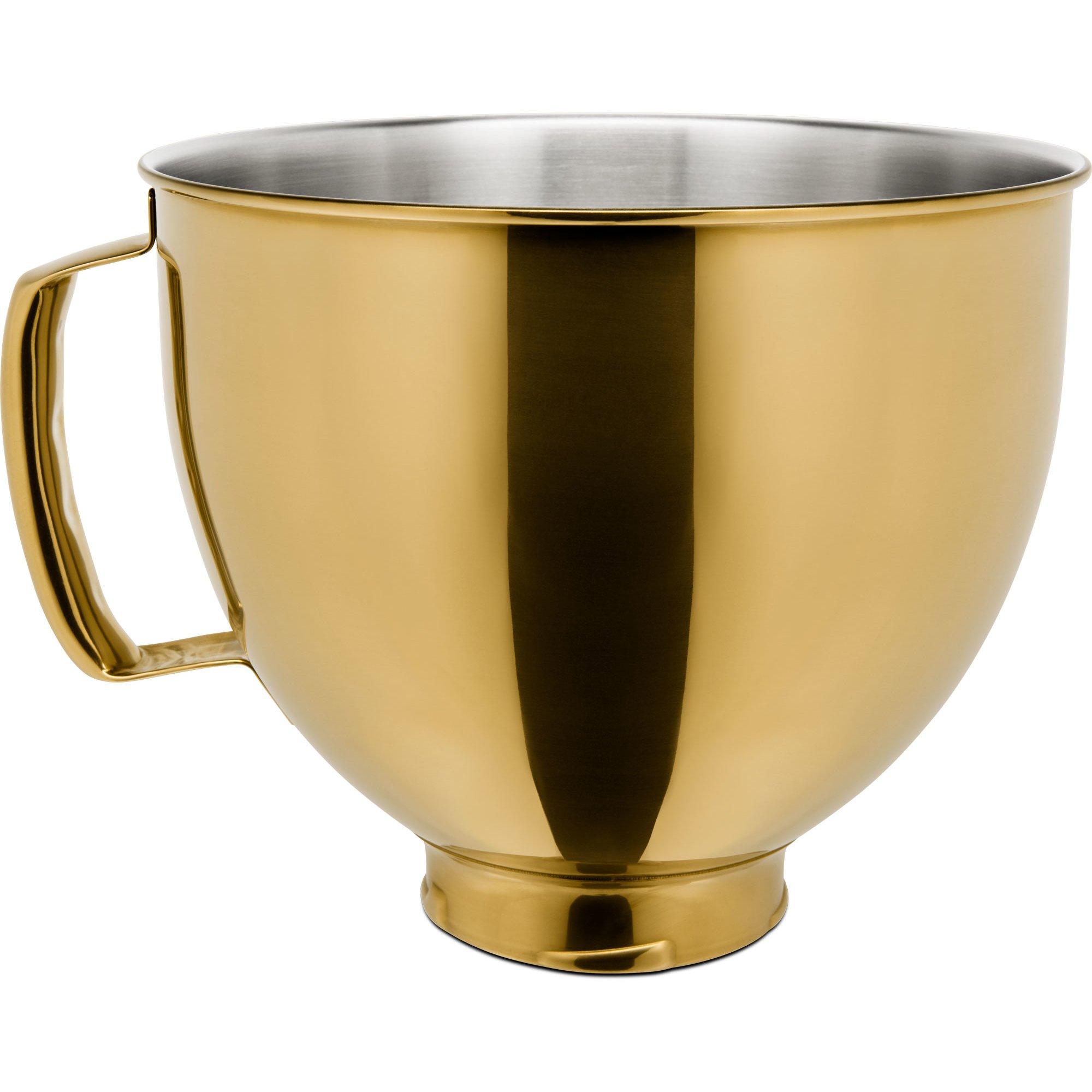 KitchenAid Skål i rostfritt stål till köksmaskin Radiant Gold
