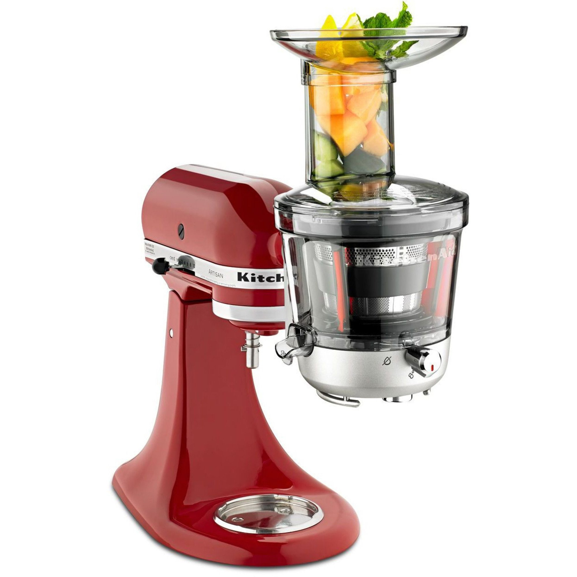 Kitchenaid Slowjuicer Recepten : SM1JA Slow Juicer fra KitchenAid Slow Juicer tilbehor til KitchenAid