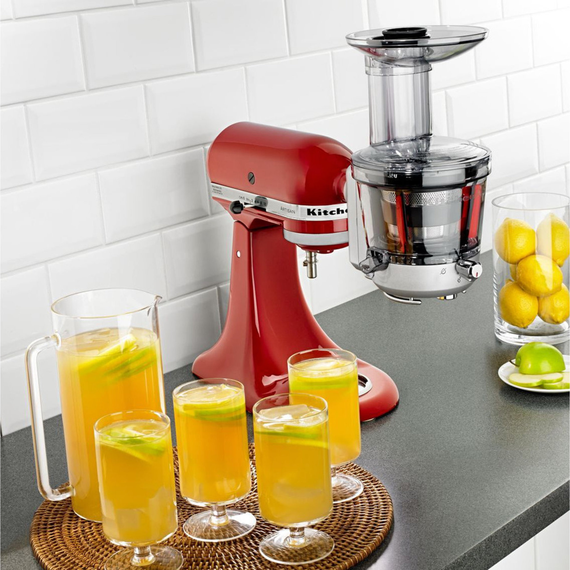 Kitchenaid Slow Juicer Rezepte : SM1JA Slow Juicer fra KitchenAid Slow Juicer tilbehor til KitchenAid