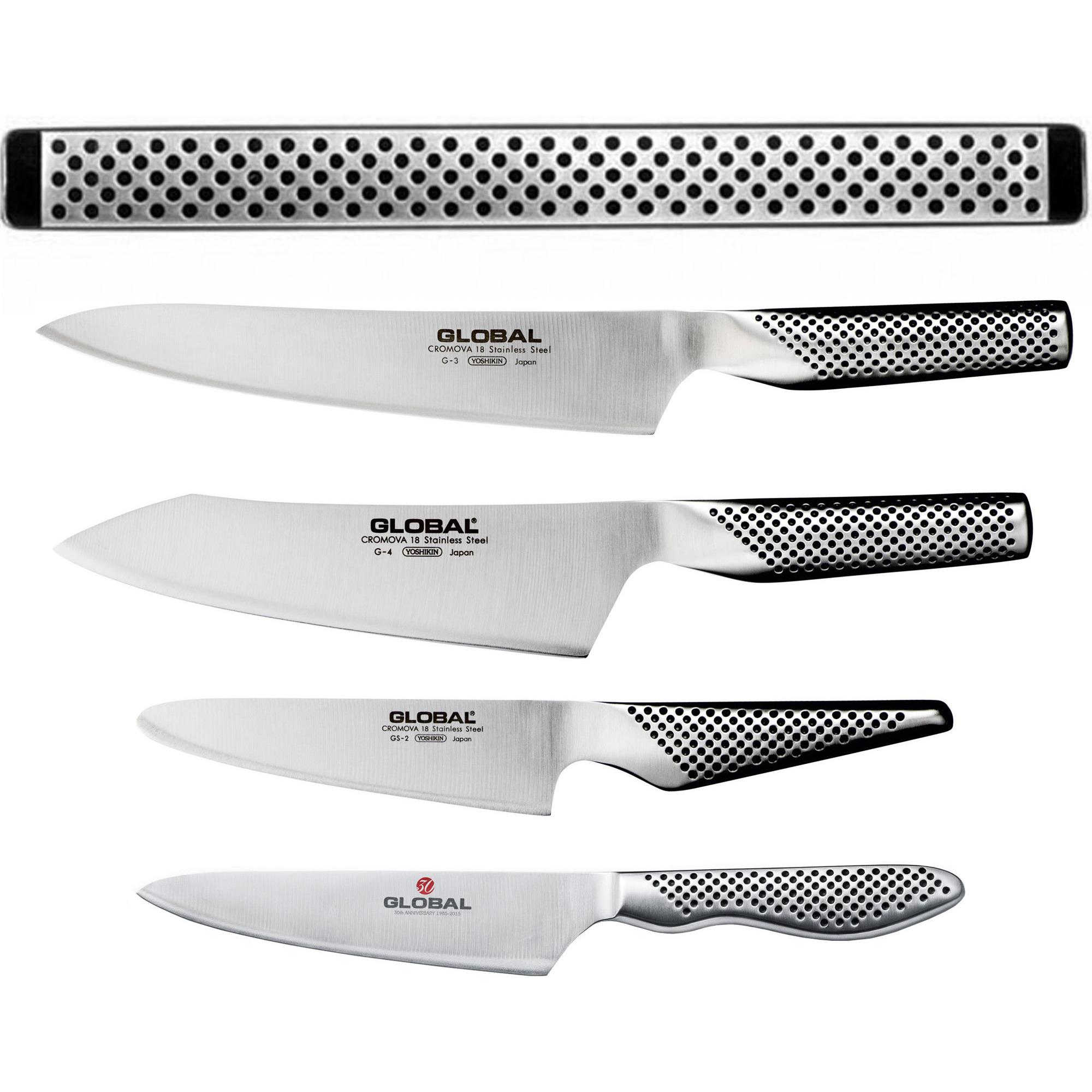 Global knivset 5 delar